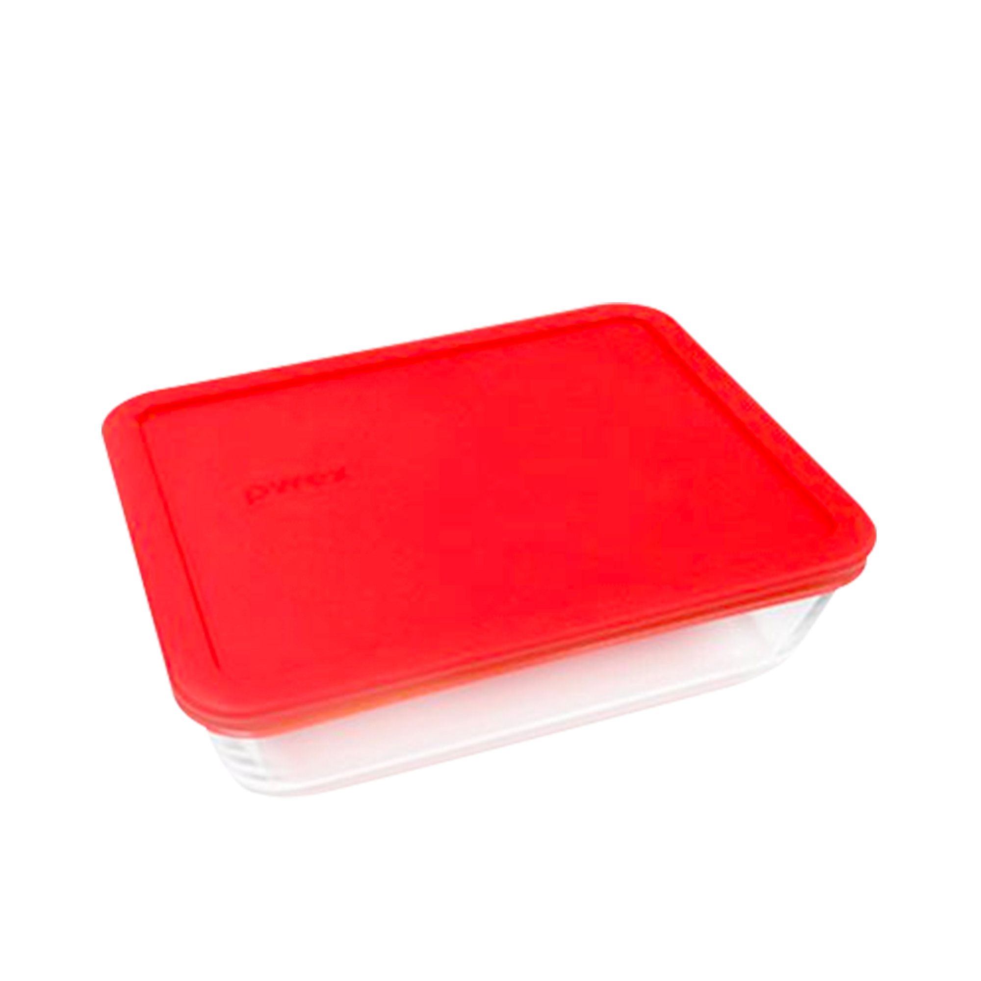 Pyrex Rectangle Storage 750ml Red
