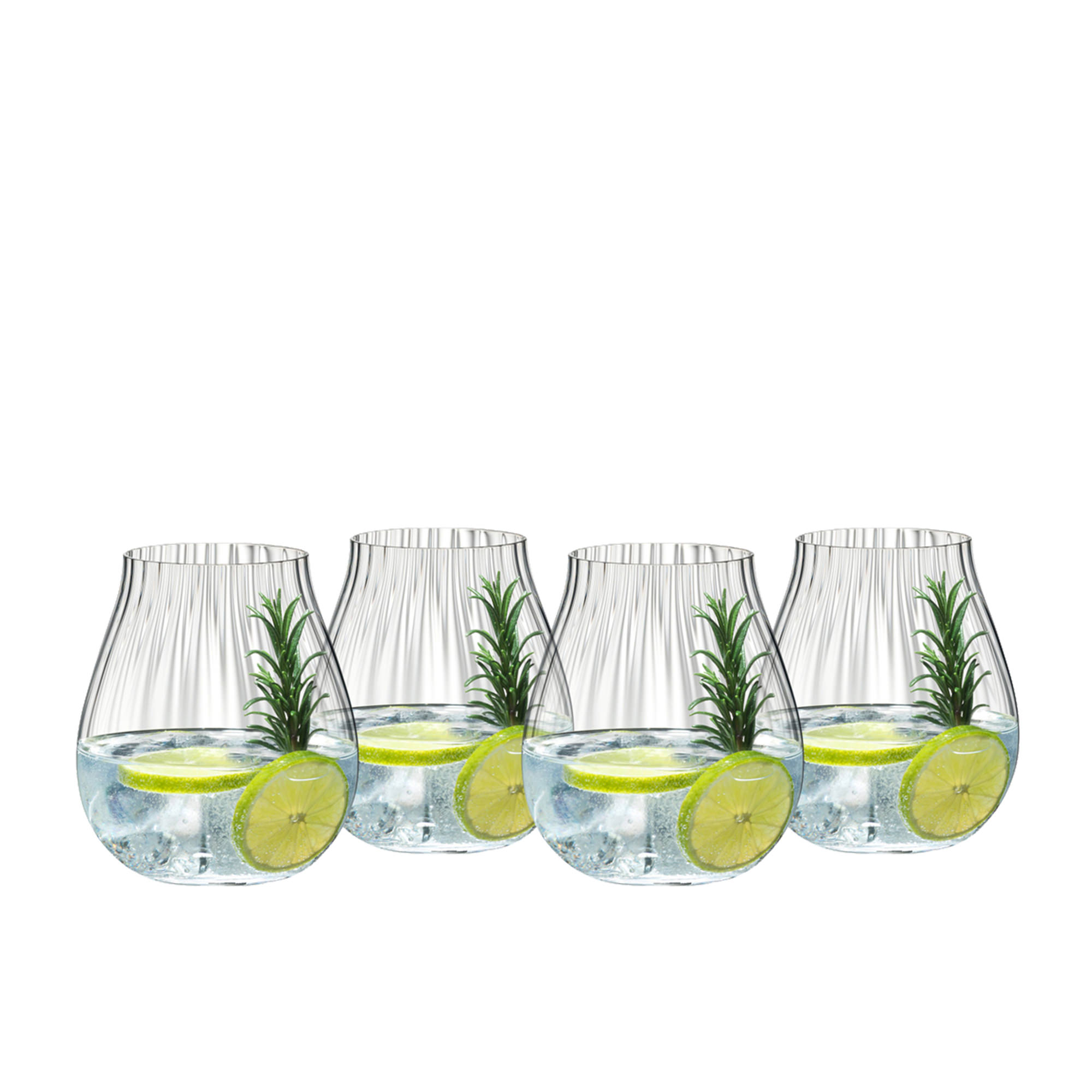 Riedel Optical O 4pc Gin Glass Set 762ml