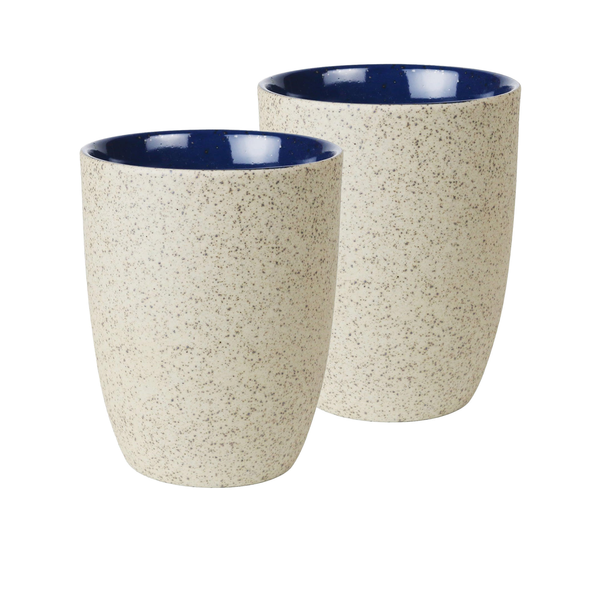 Robert Gordon Granite 2pc Latte Cup Set 330ml Blue