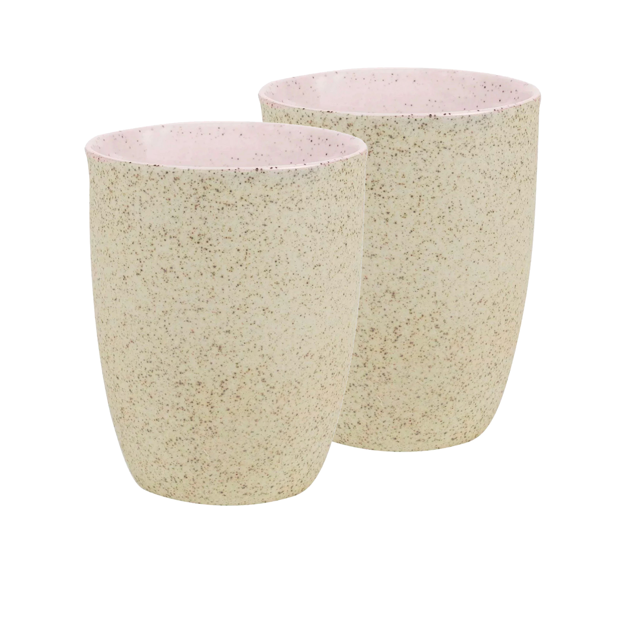 Robert Gordon Granite 2pc Latte Cup Set 330ml Pink