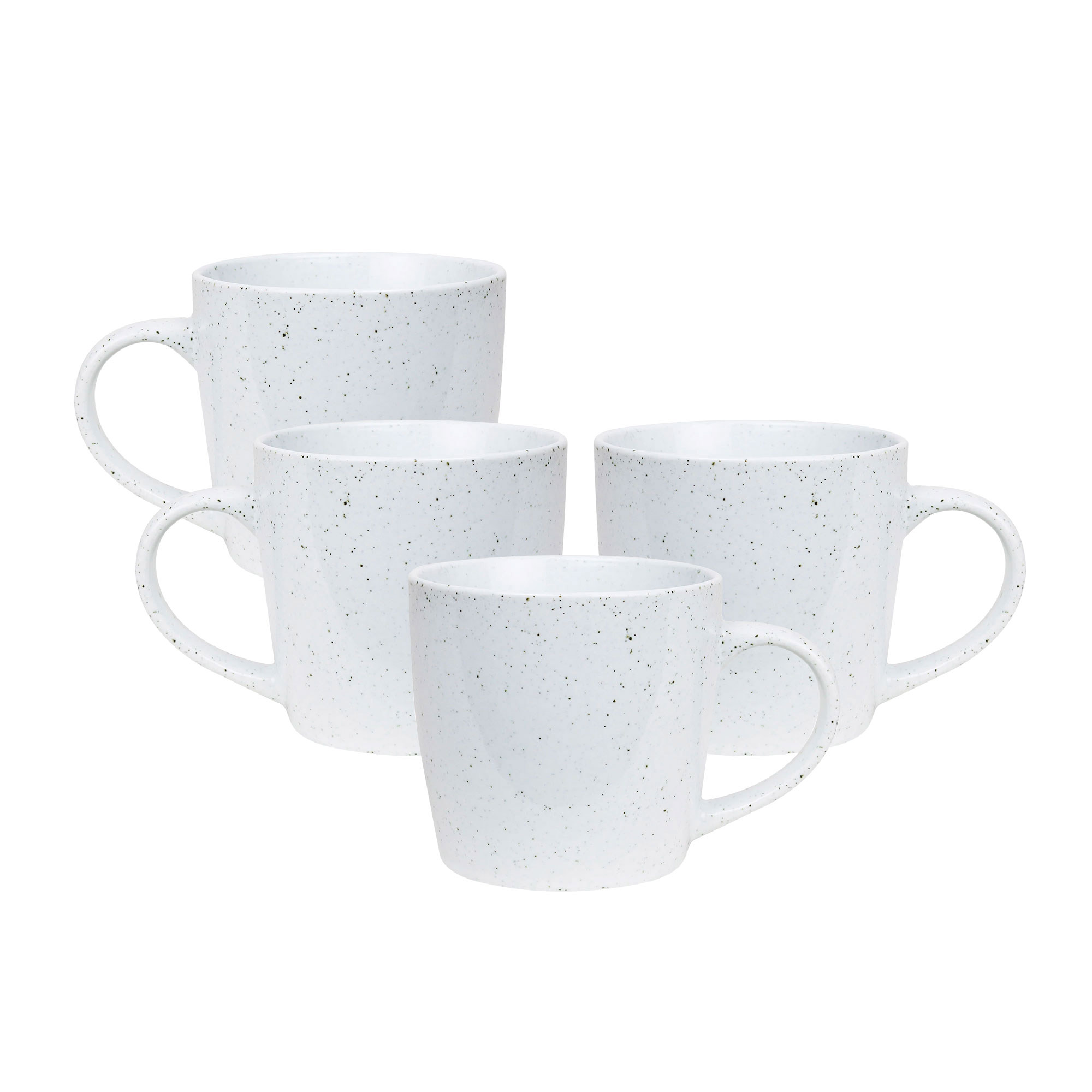 Robert Gordon Granite 4pc Mug Set 350ml White