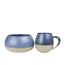 Robert Gordon Morning Hugs <b>Bowl</b> & Mug Denim