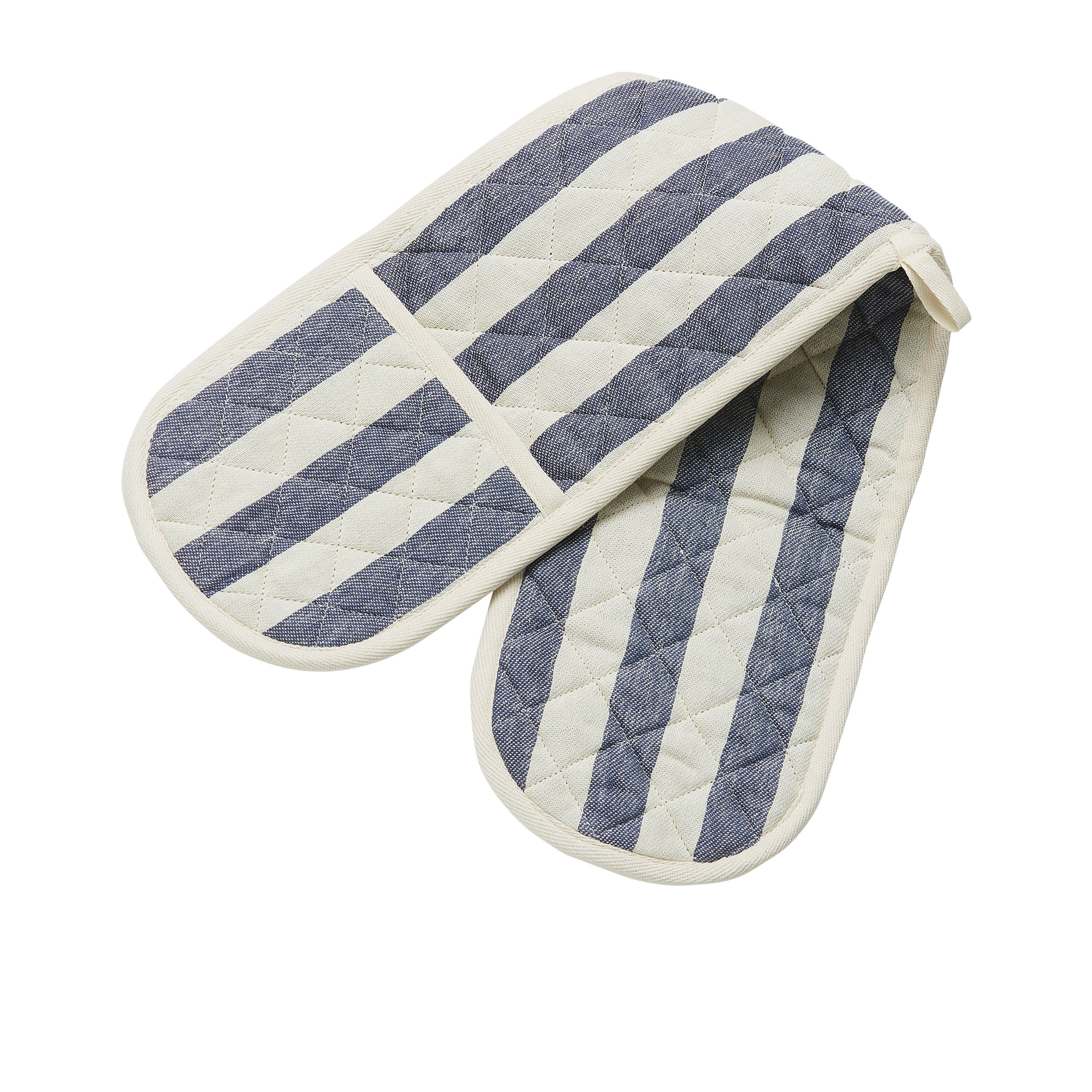 Salisbury & Co Bristol Double Oven Glove Blue