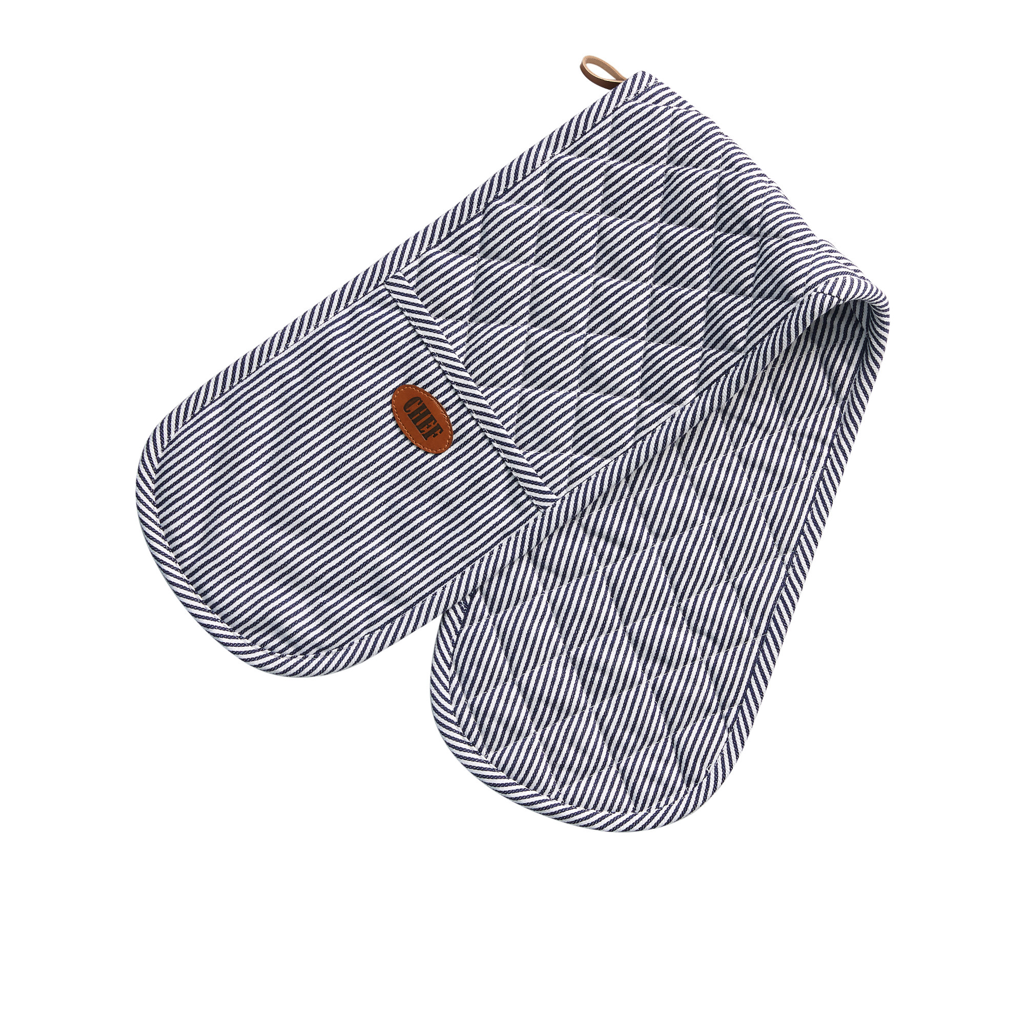 Salisbury & Co Chef Double Oven Mitt Navy Blue
