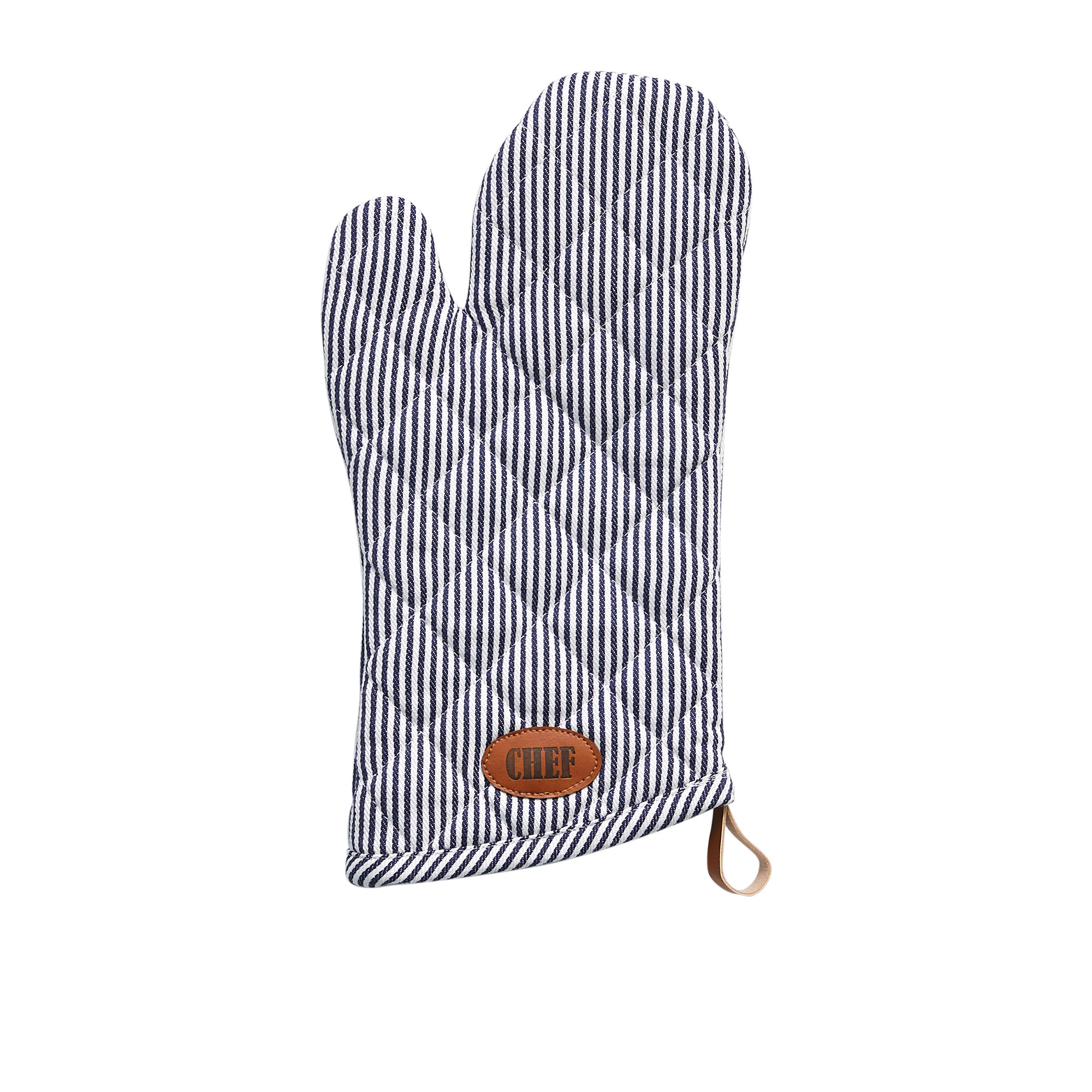 Salisbury & Co Chef Oven Glove Navy Blue
