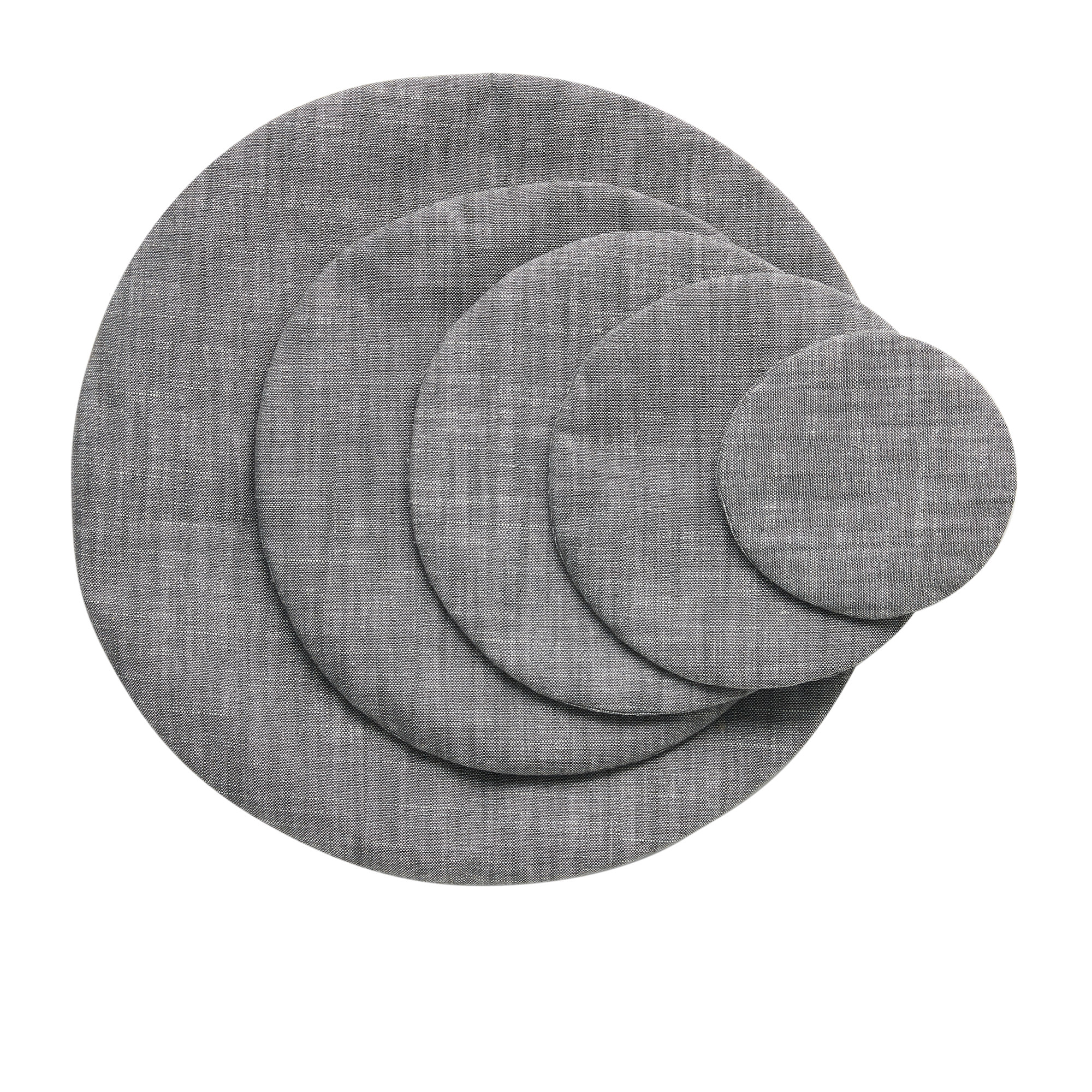 Salisbury & Co Essentials Round 5pc Food Cover Charcoal