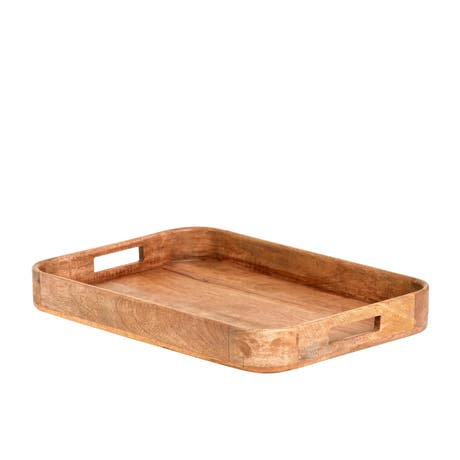 Salisbury & Co Grove Rectangular Mango Wood Serving Tray 50x35x6cm