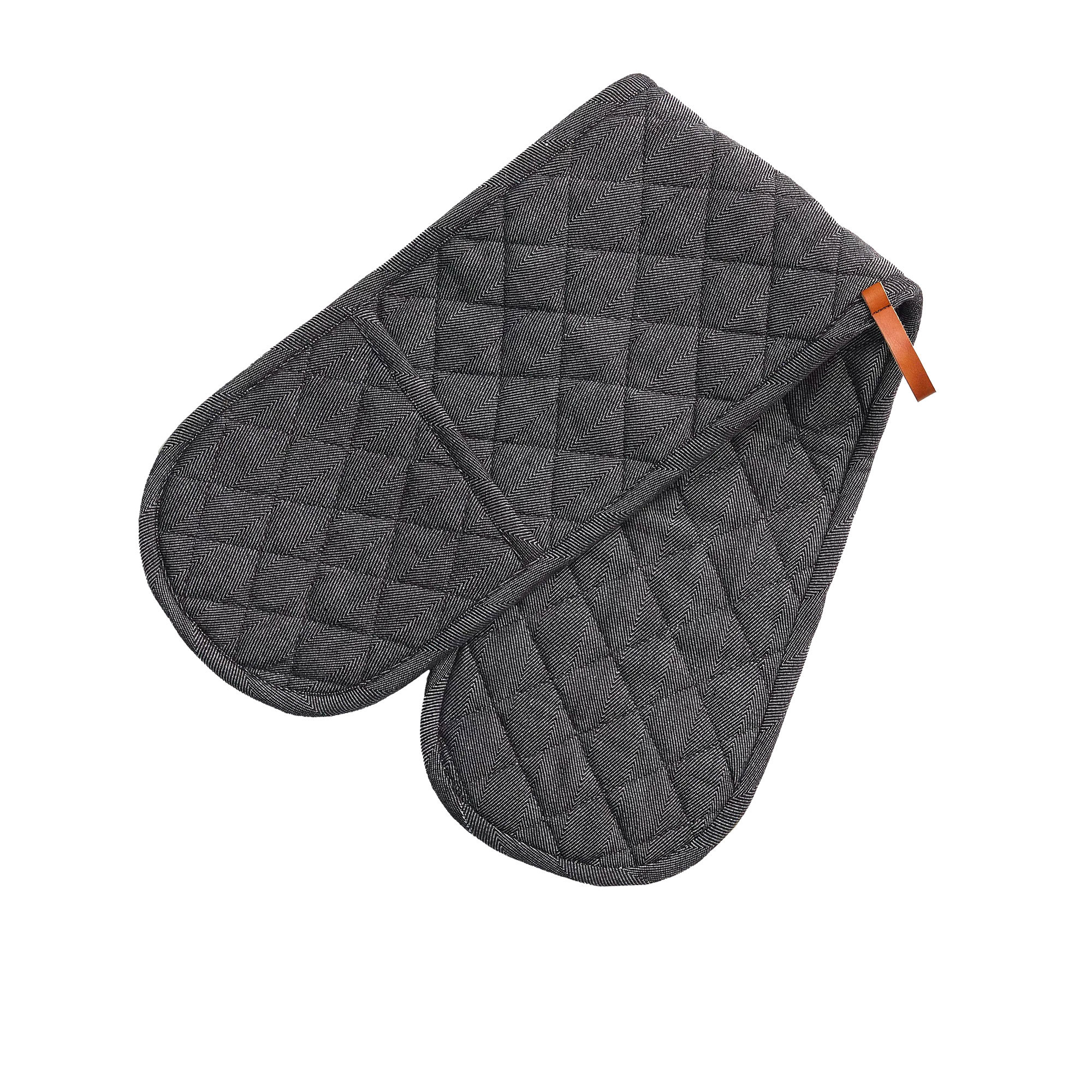 Salisbury & Co Hampstead Double Oven Mitt Black
