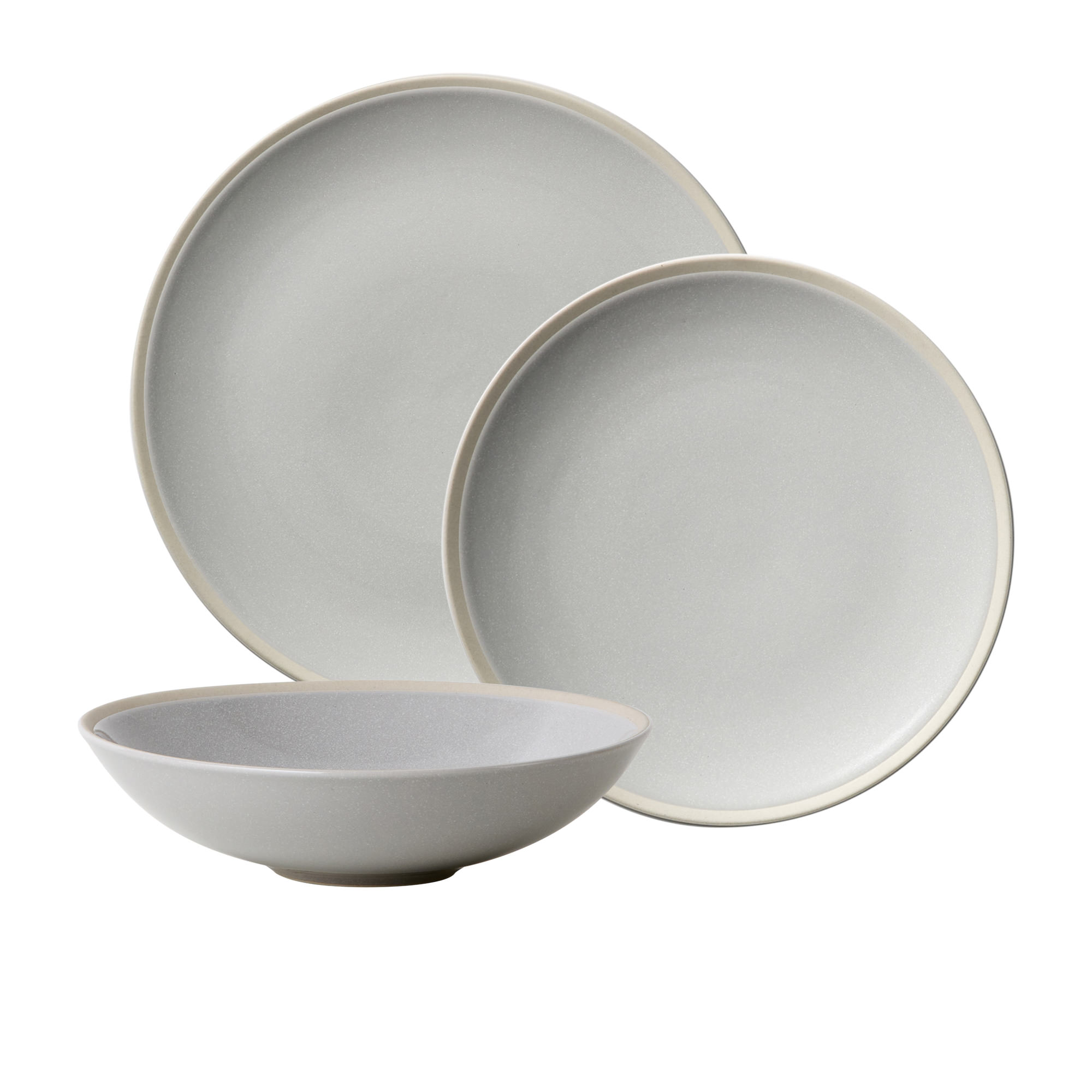 Salisbury & Co Malta 12pc Dinner Set Grey