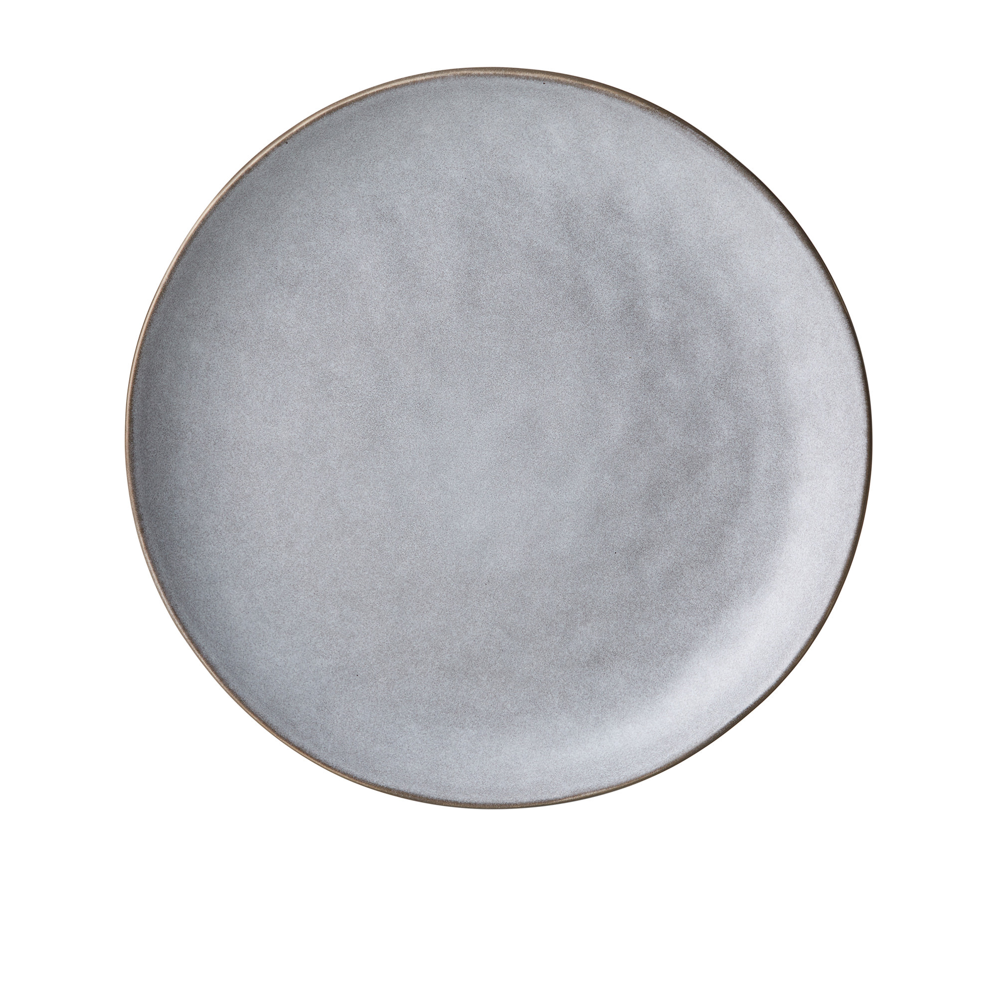 Salisbury & Co Siena Round Platter 33cm Light Grey