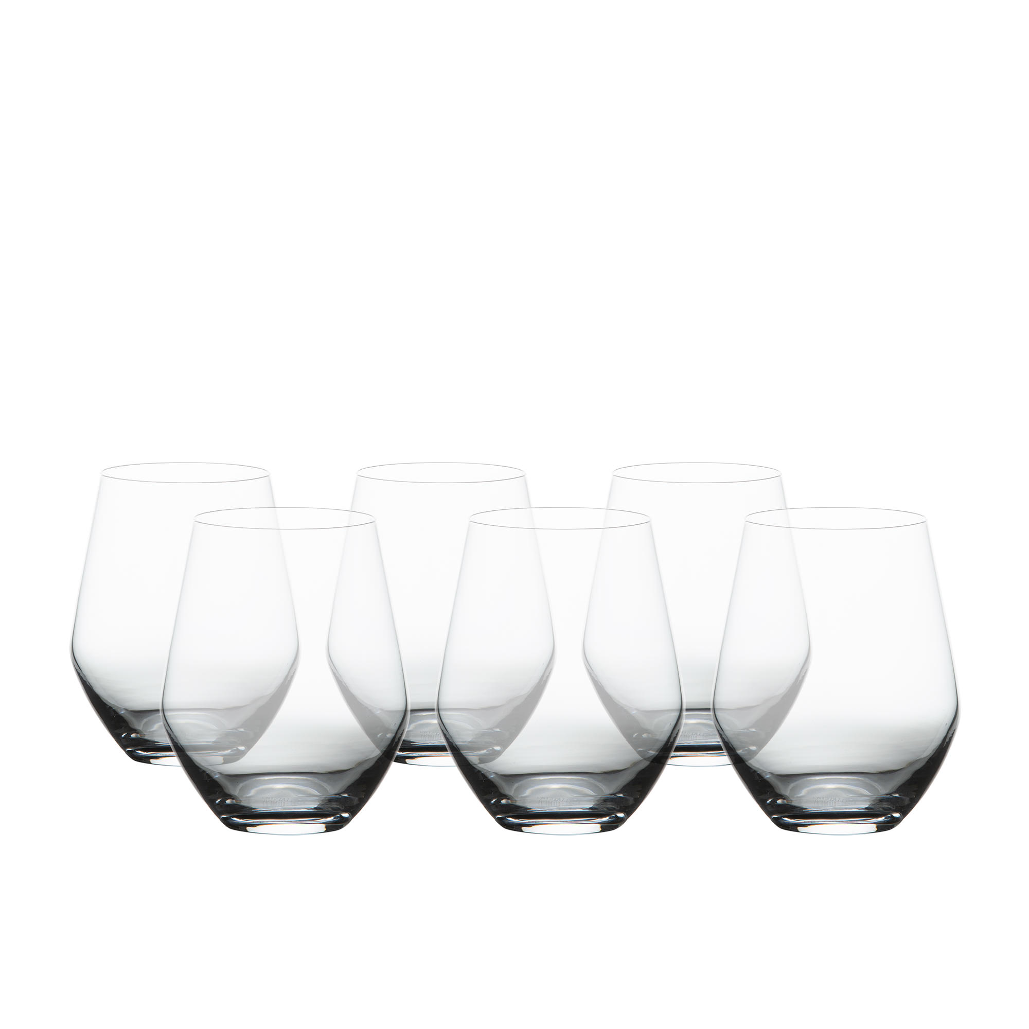 Salisbury & Co Sublime Stemless Wine Glass Set 350ml 6pc