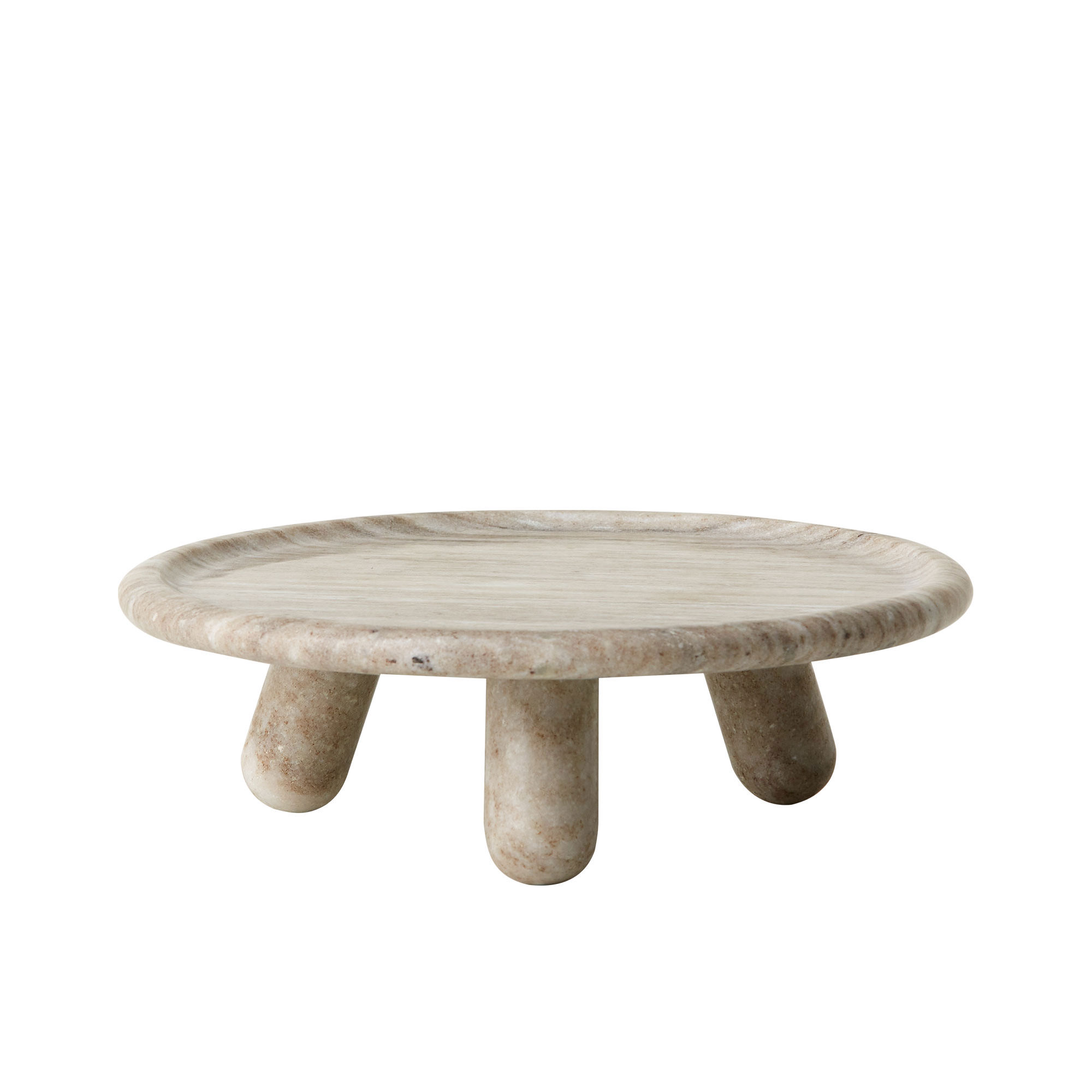 Salisbury & Co Tusca Cake Stand Small 25x7cm Grey
