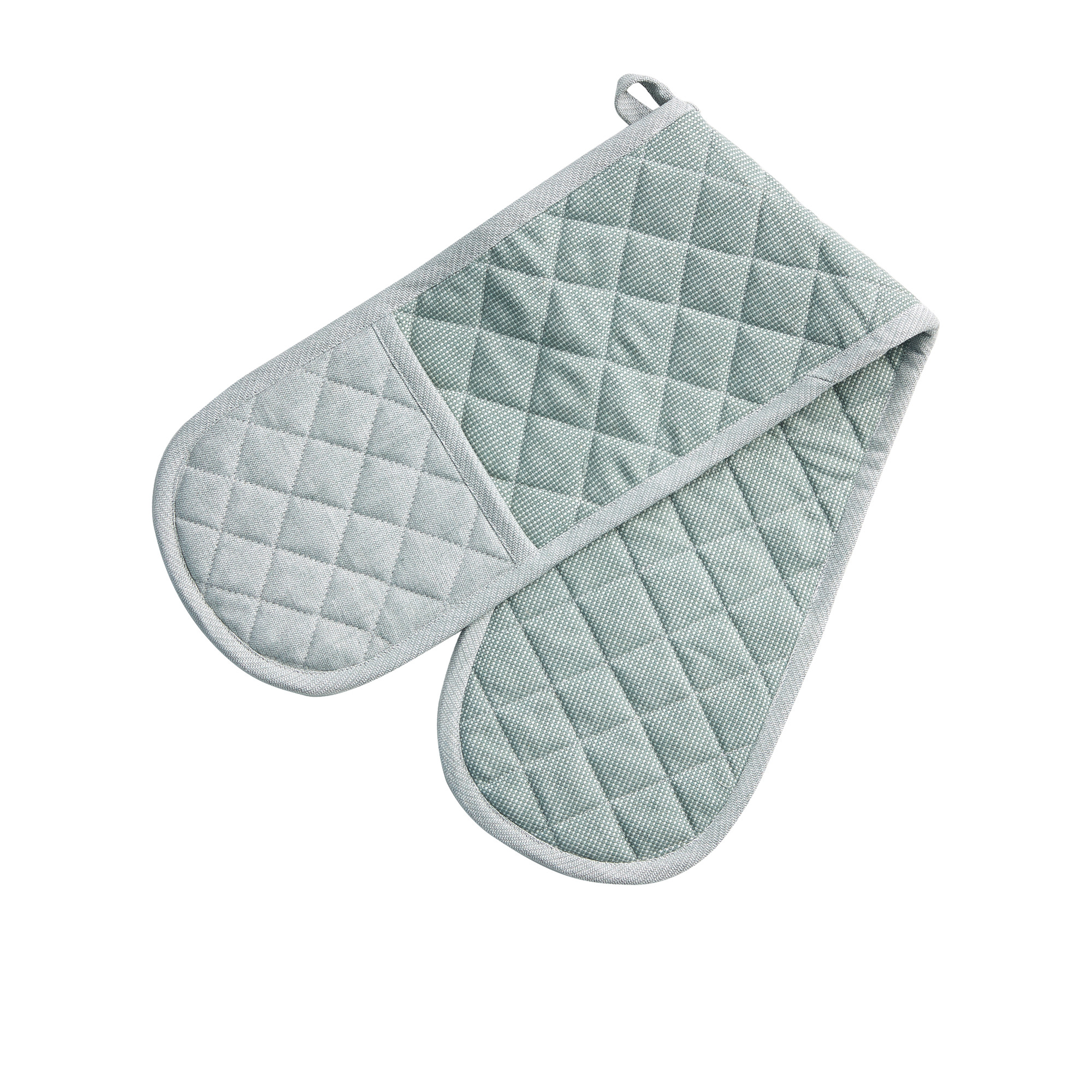 Salisbury & Co York Double Oven Mitt Green