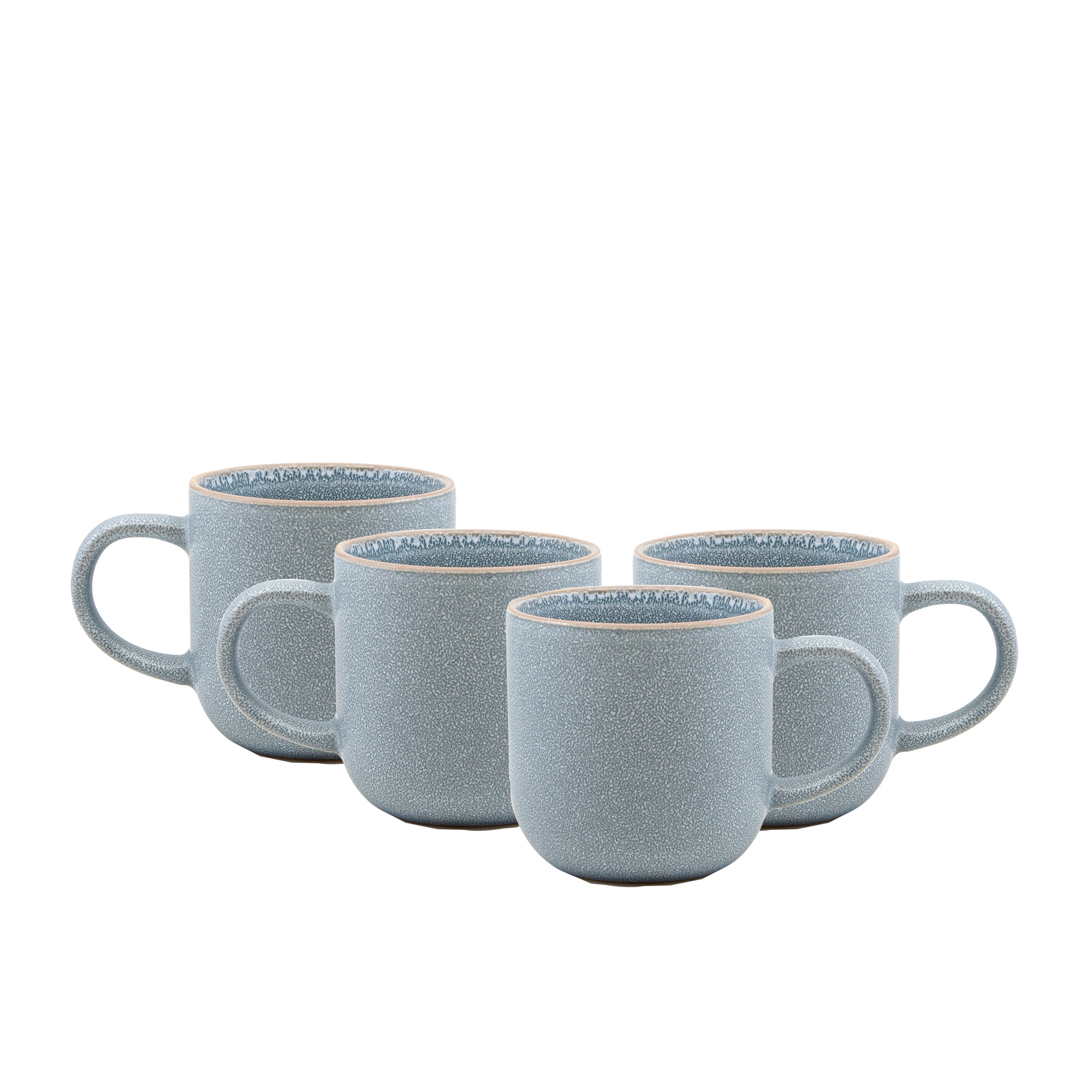 Salt & Pepper Hana 4pc Mug Set 380ml Light Blue