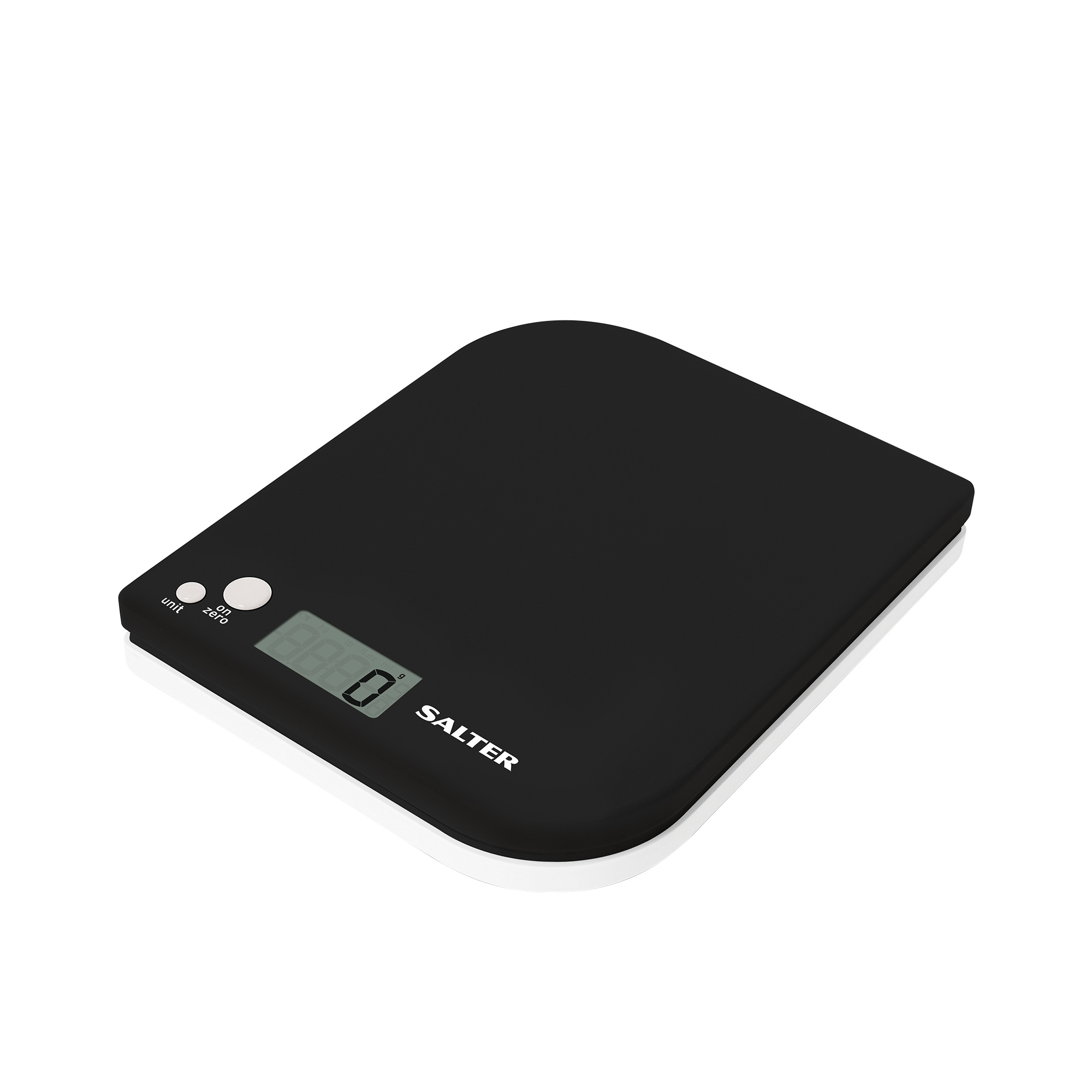Salter Leaf Electronic Kitchen Scale 5kg Black