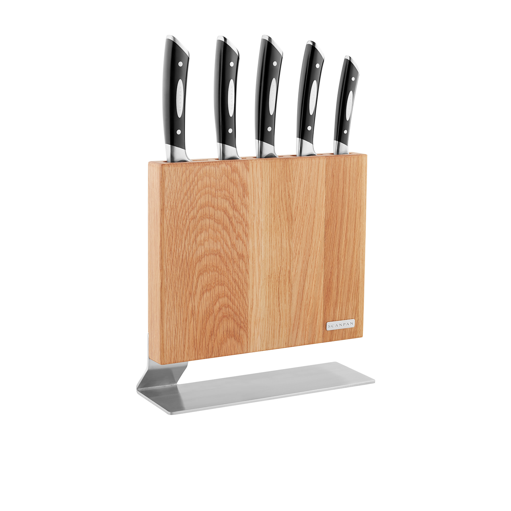 Scanpan Classic Kattegat 6 Piece Knife Block Set