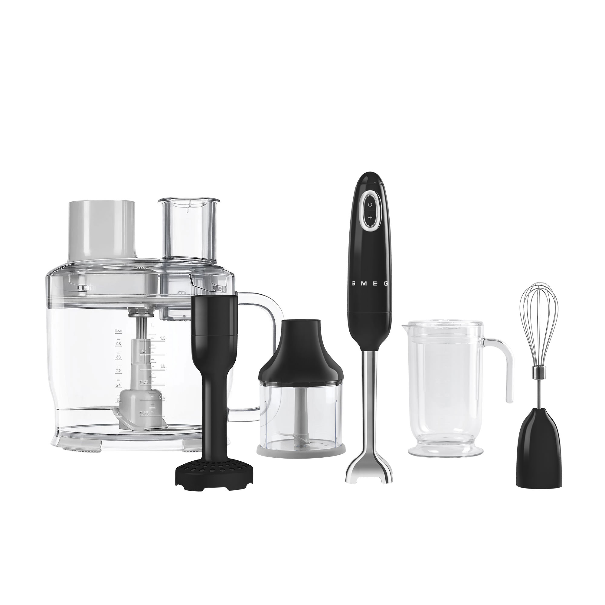 Smeg Hand Blender Pack Black