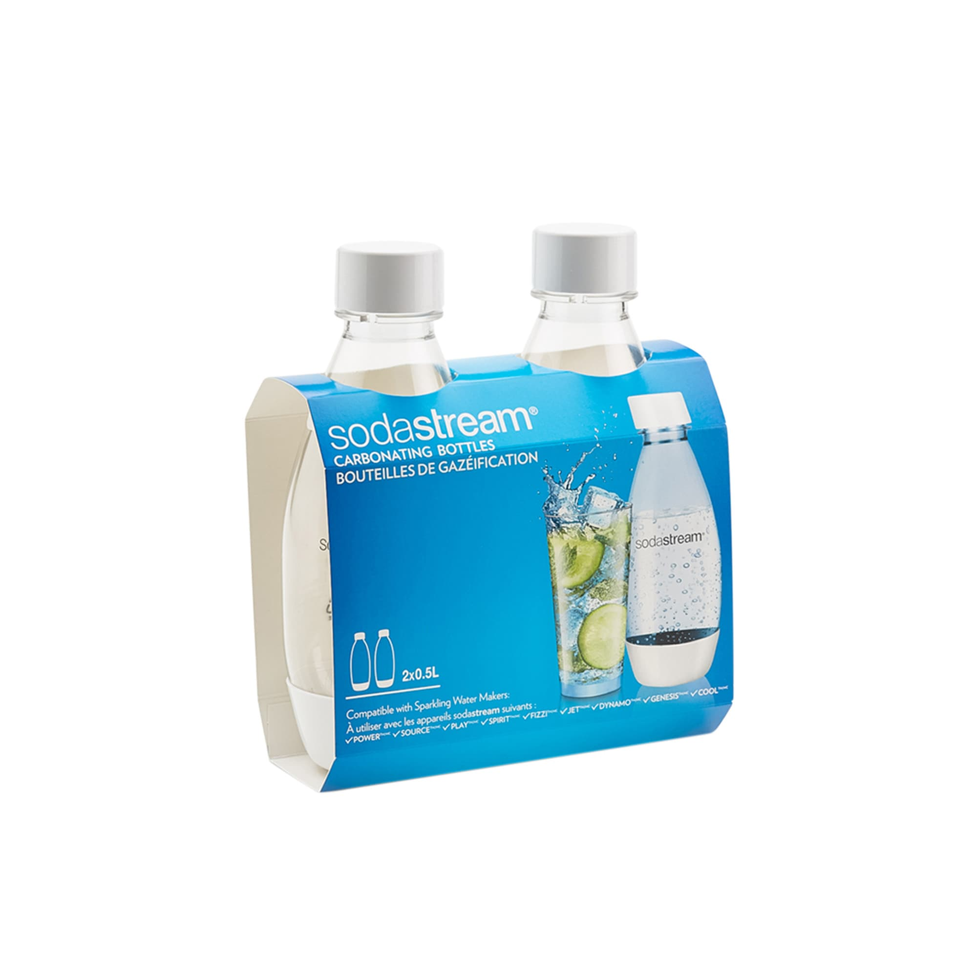 SodaStream Fuse Twin Bottle Pack 500ml White image #2