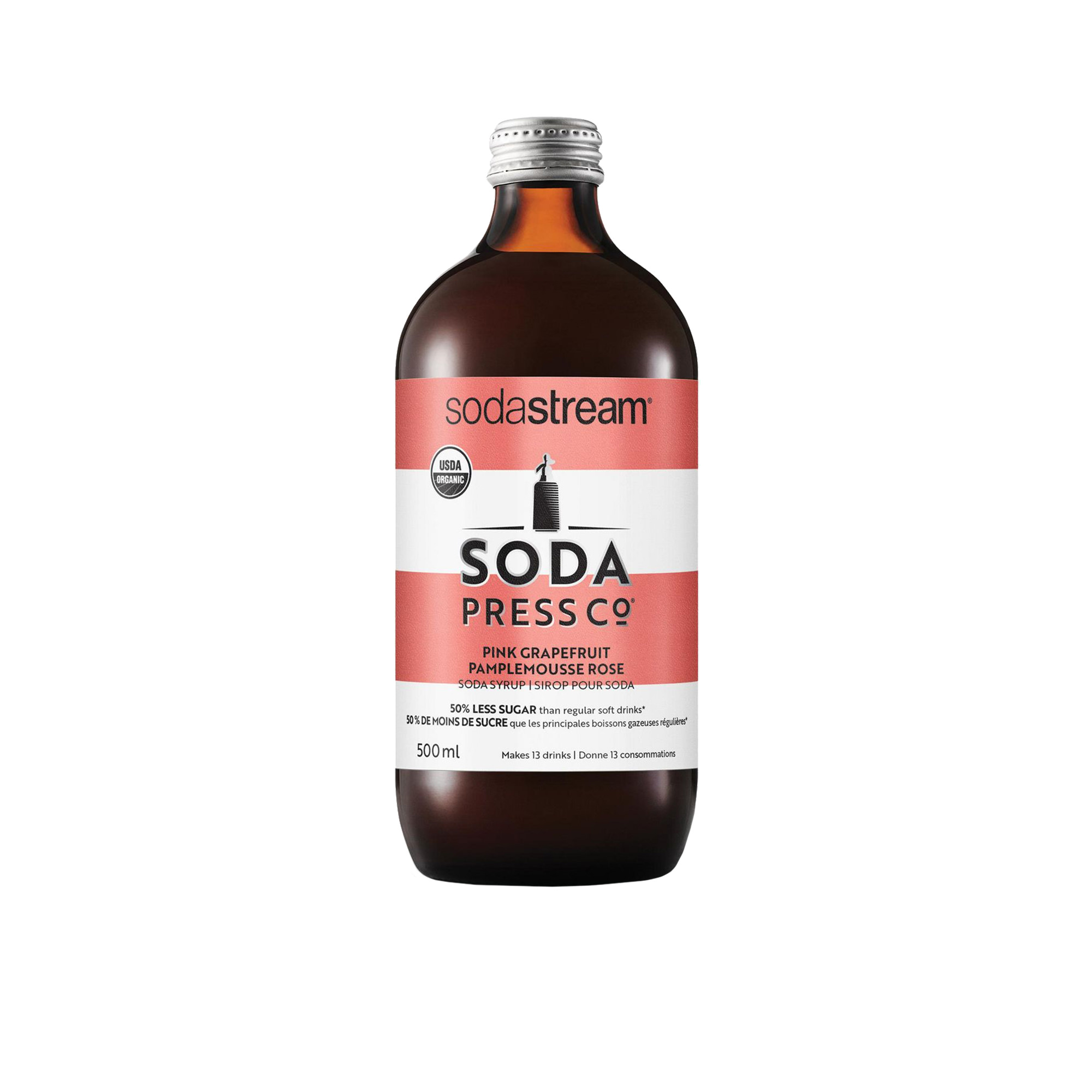 SodaStream Soda Press Co Organic Soda Syrup Grapefruit