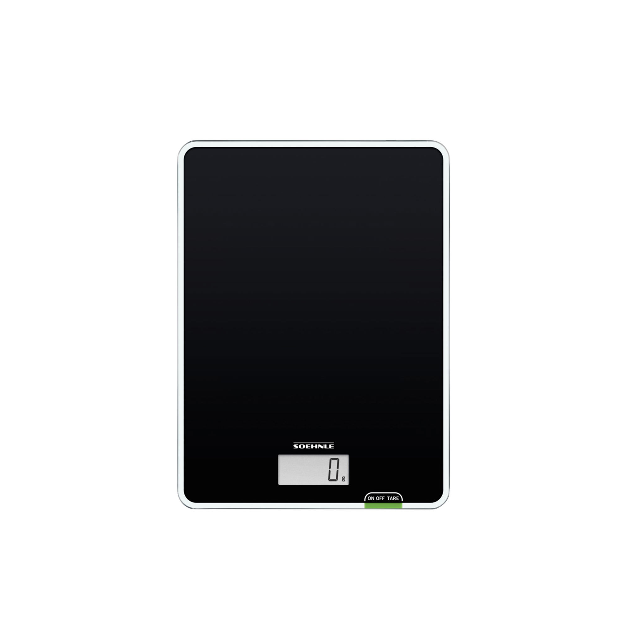 Soehnle Page Compact 100 Digital Kitchen Scale 5kg Black