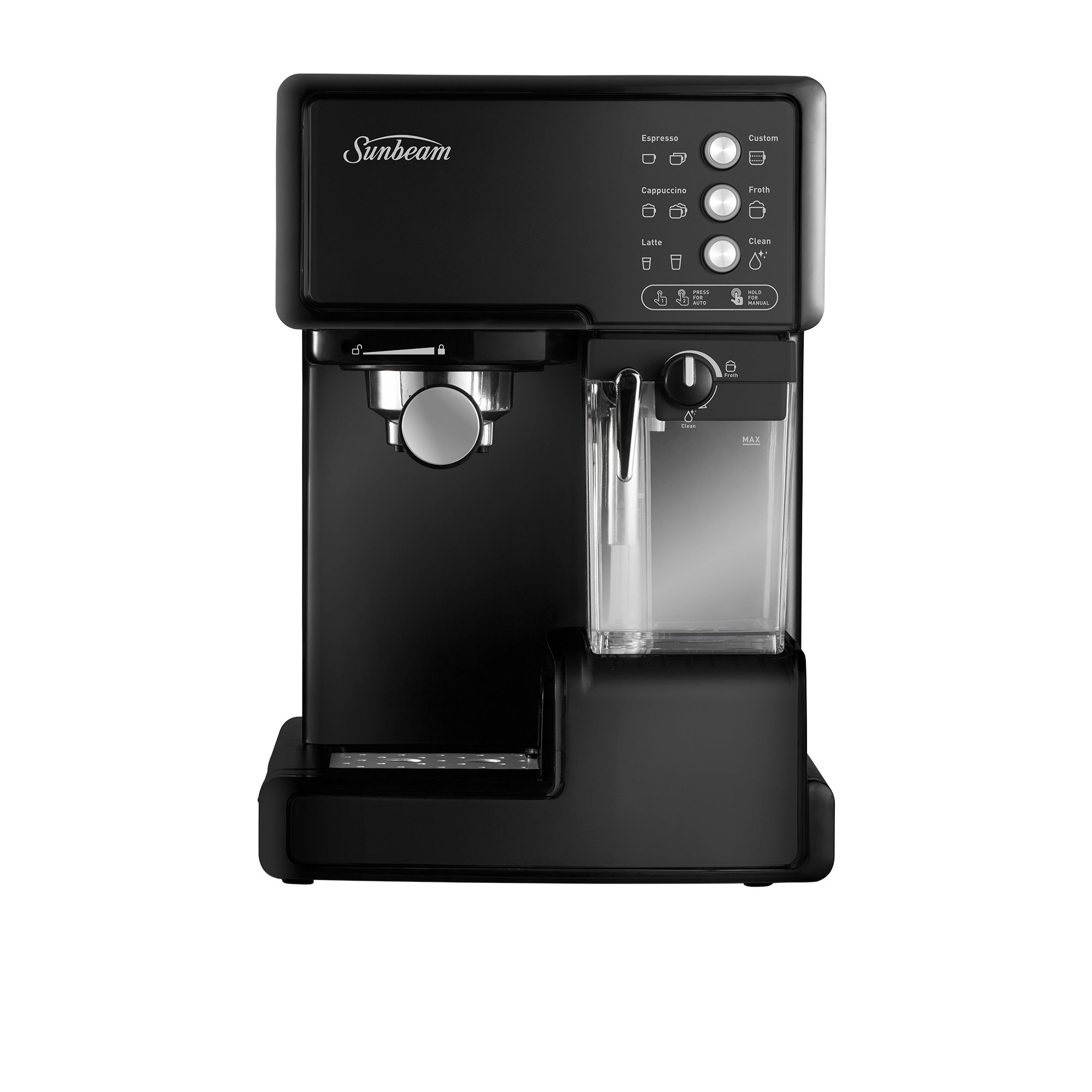 Sunbeam Cafe Barista Coffee Machine Black