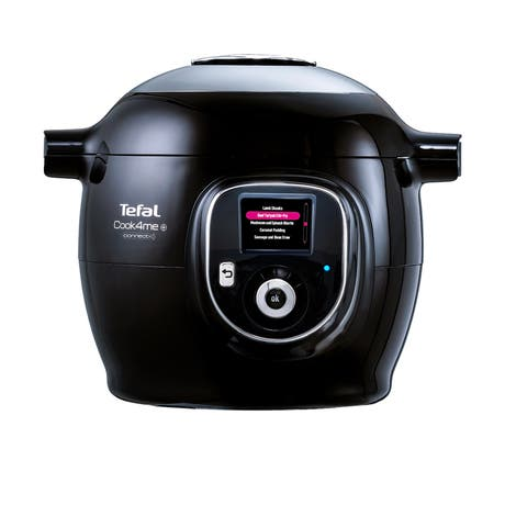Tefal Cook4Me + Connect Multi Cooker Black