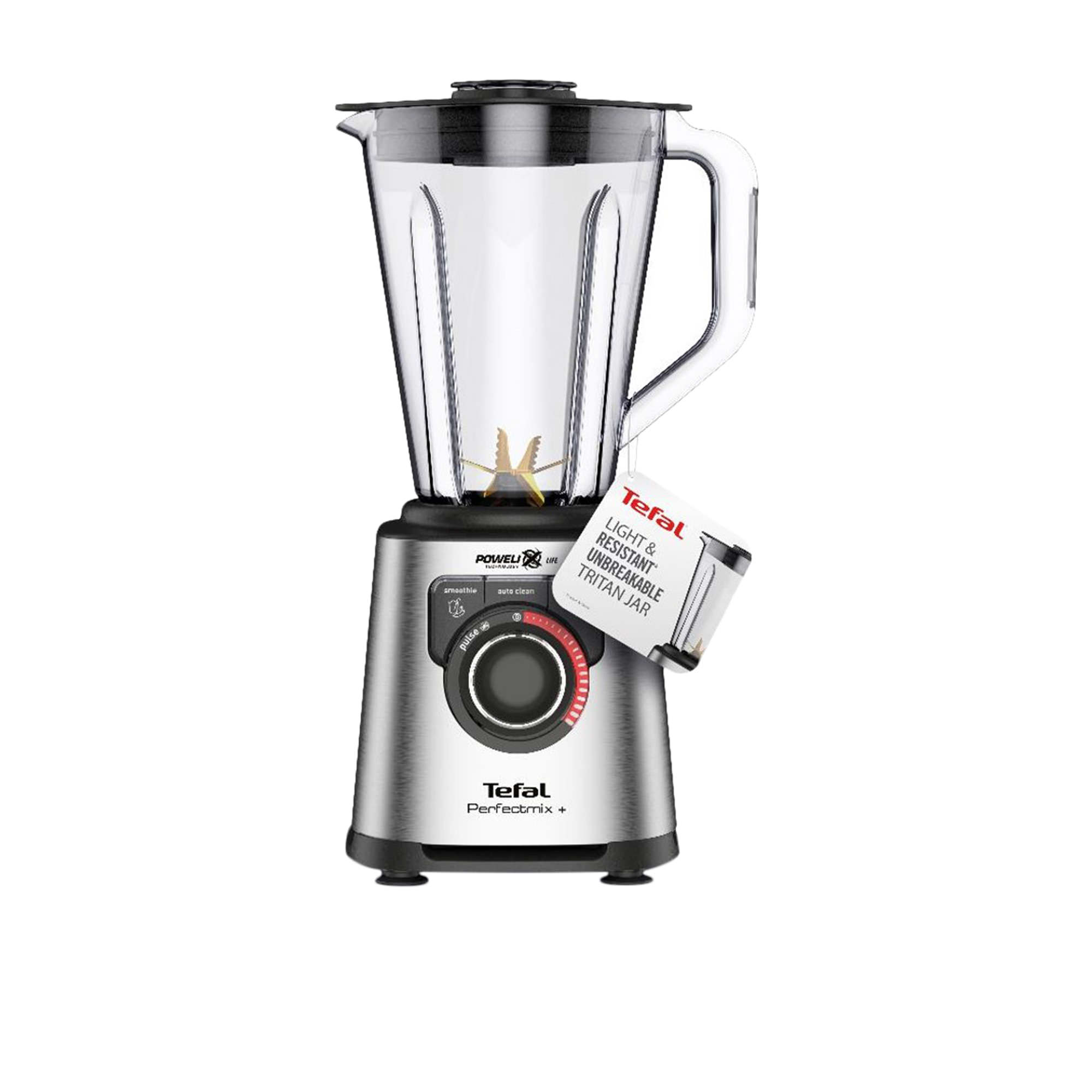 Tefal Perfectmix + Blender Stainless Steel