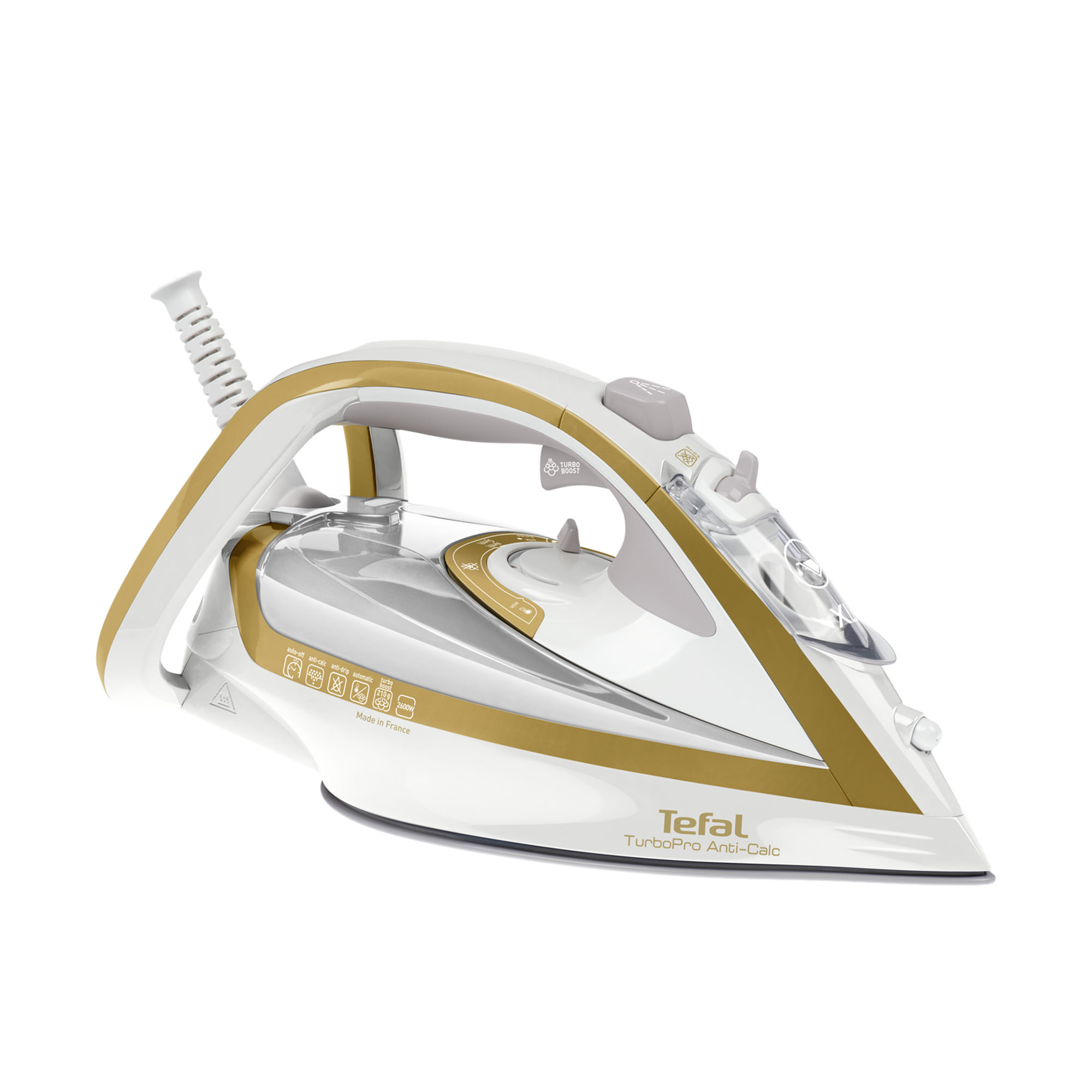 Tefal TurboPro Airglide Anti Calc Steam Iron