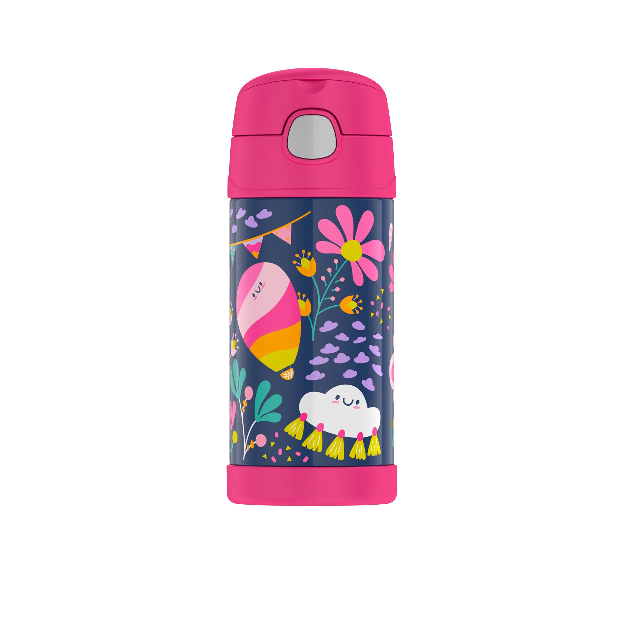 Thermos Funtainer Insulated Drink Bottle 355ml Whimsical Cloud