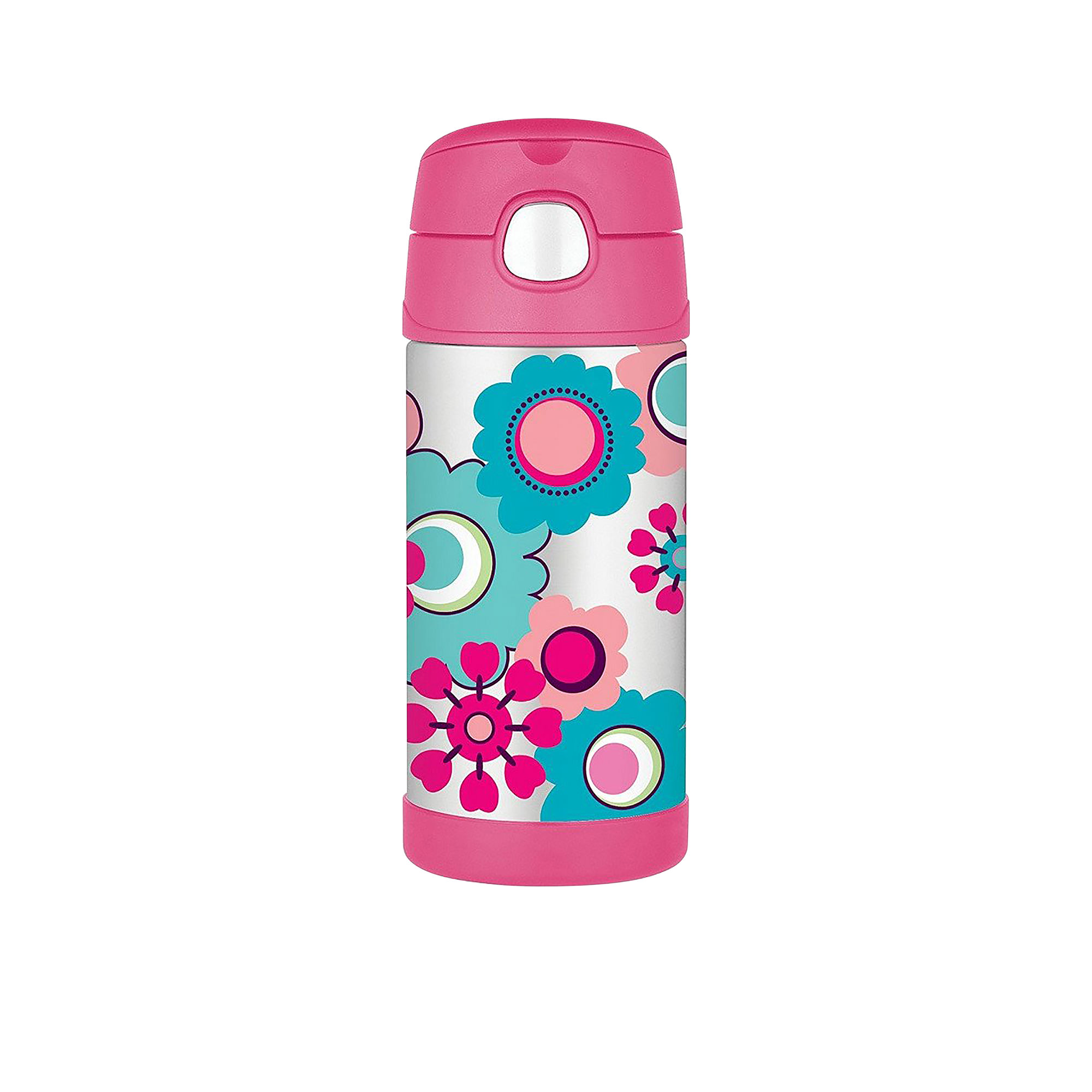 Thermos Funtainer Insulated Drink Bottle 355ml Flower