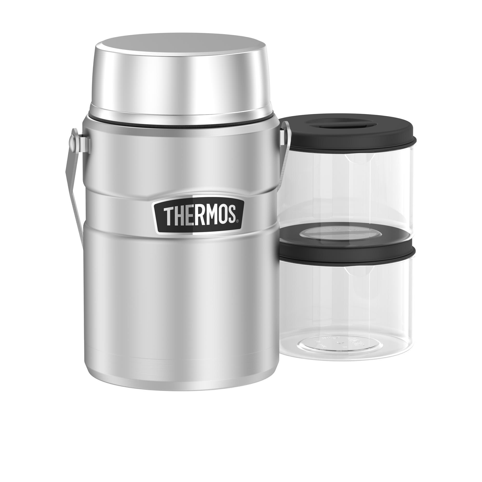 Thermos Stainless King Big Boss Food Jar 1.39L Stainless Steel