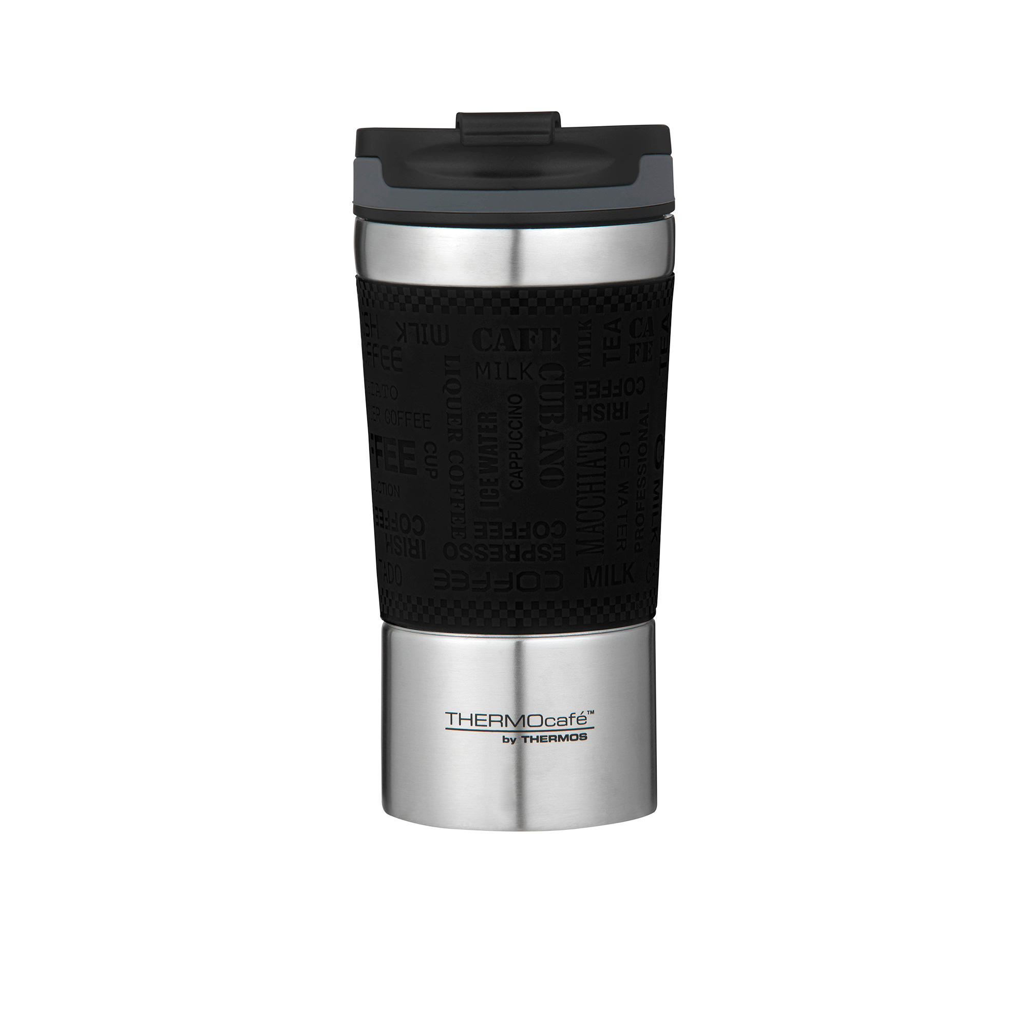 Thermos THERMOcafe Vacuum Insulated Travel Cup 350ml Black