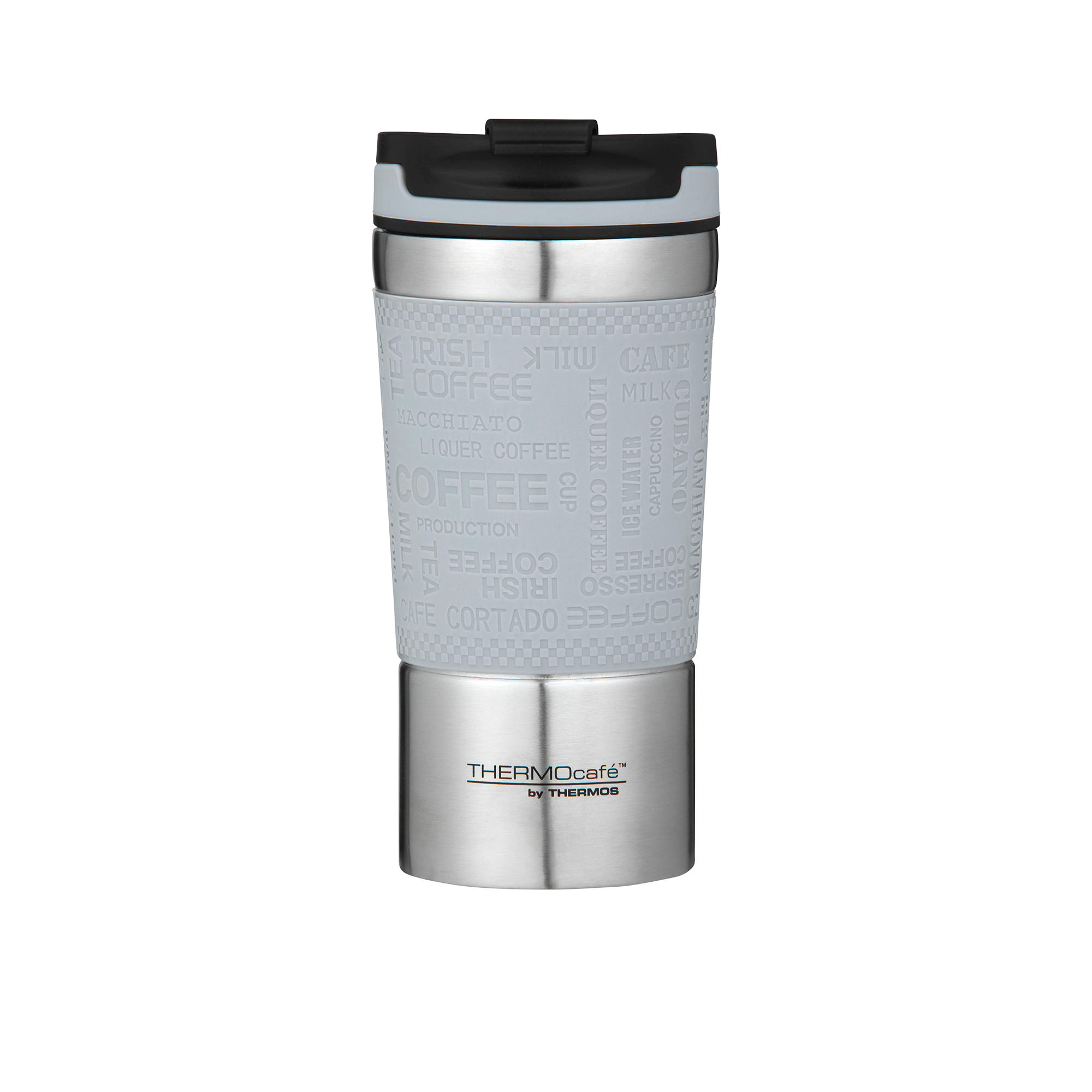 Thermos Thermocafe Vacuum Insulated Travel Cup 350ml Grey