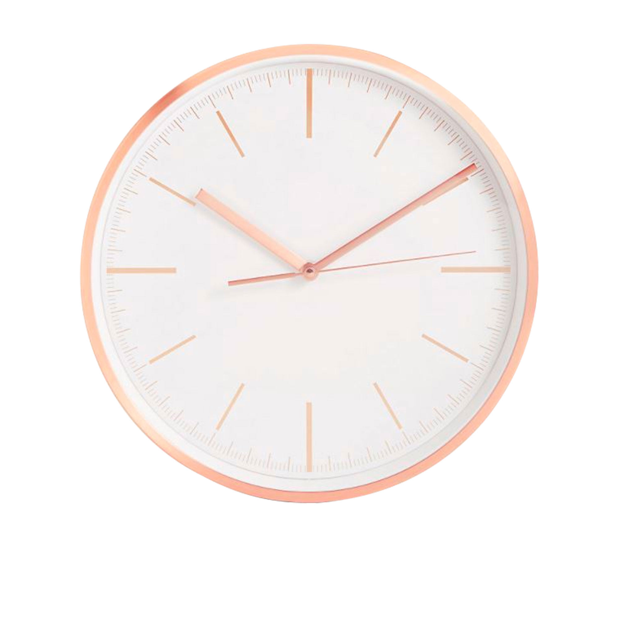 Toki Kayla Wall Clock 30cm Rose Gold