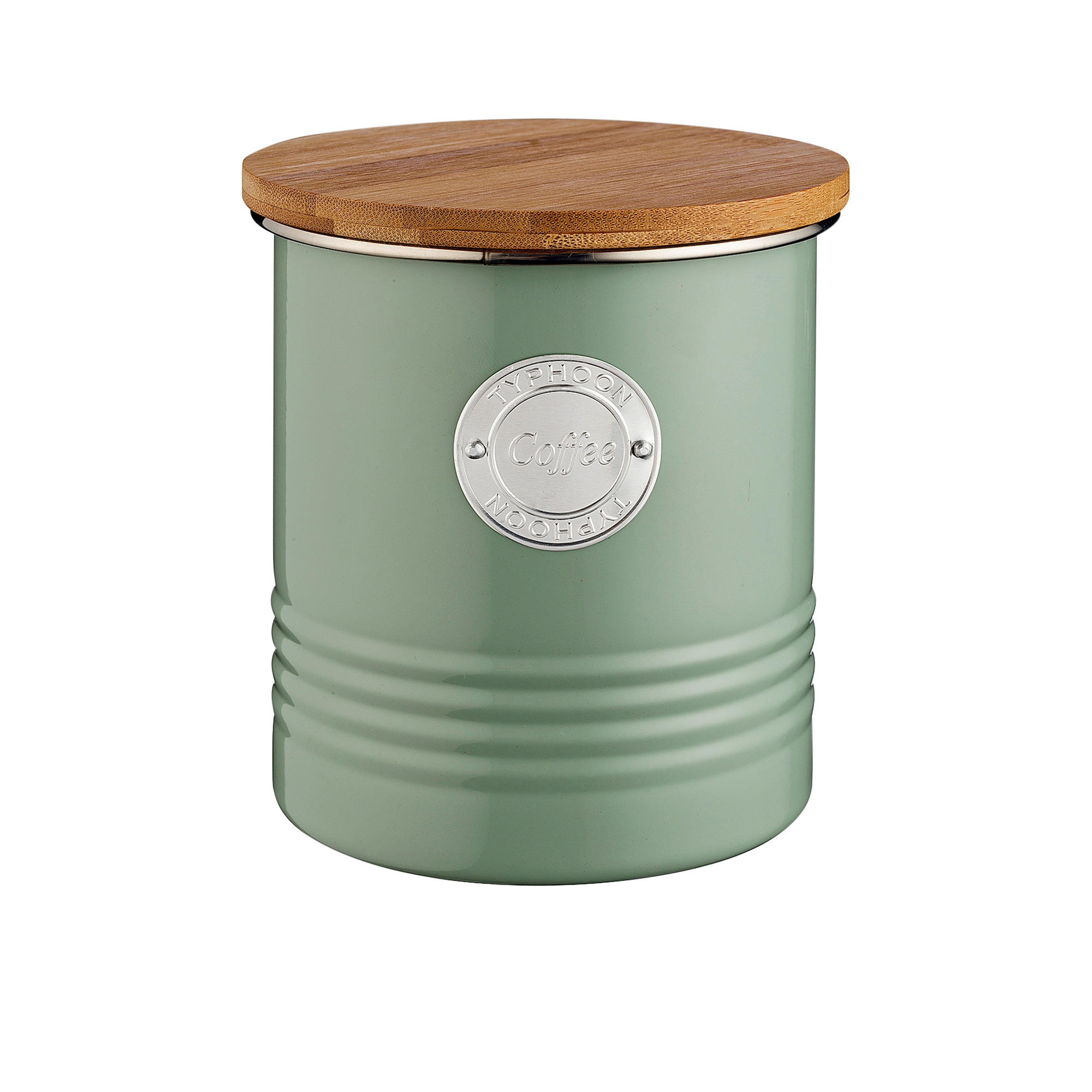 Typhoon Living Coffee Canister 1L Sage