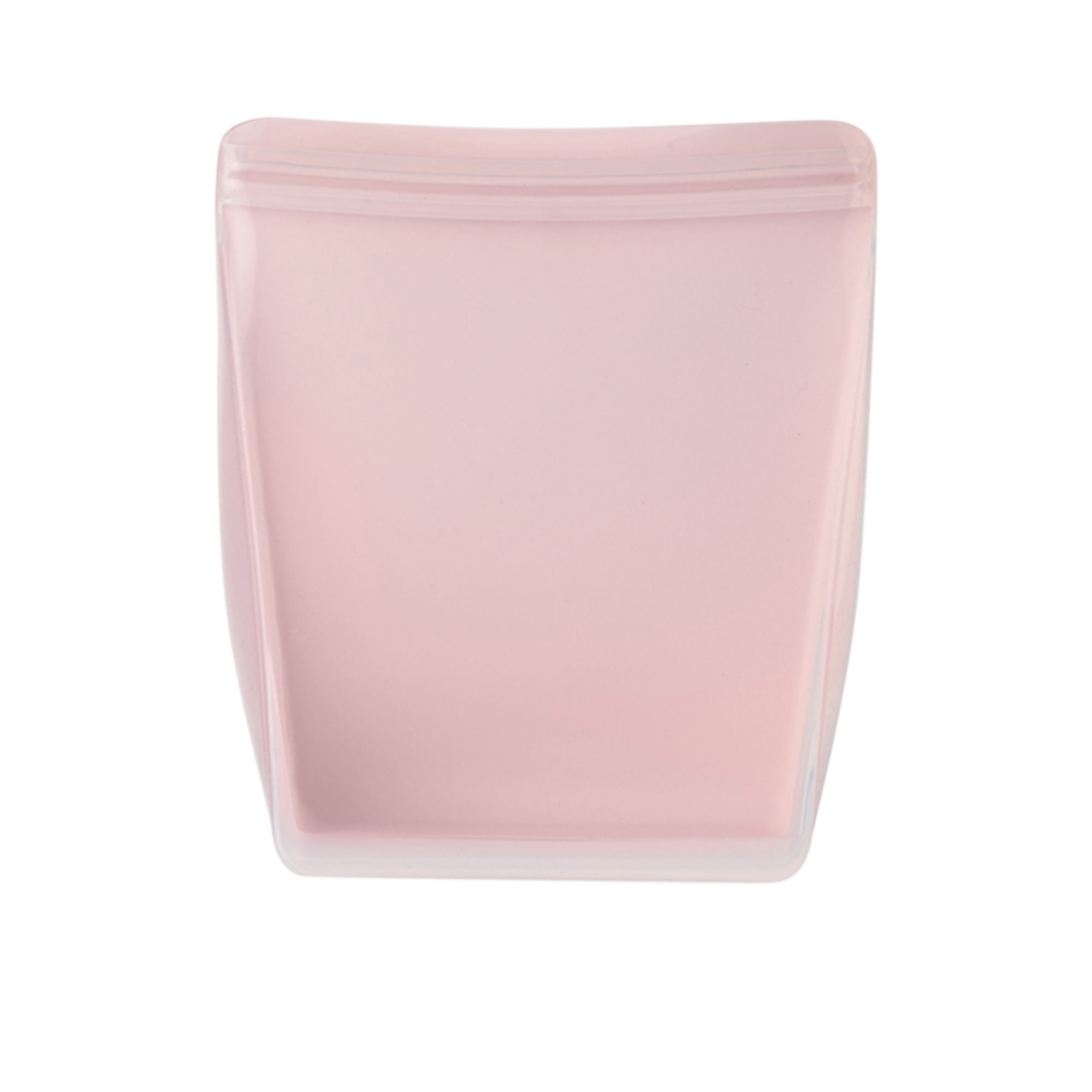 W&P Porter Reusable Stand Up Silicone Bag 1L Blush