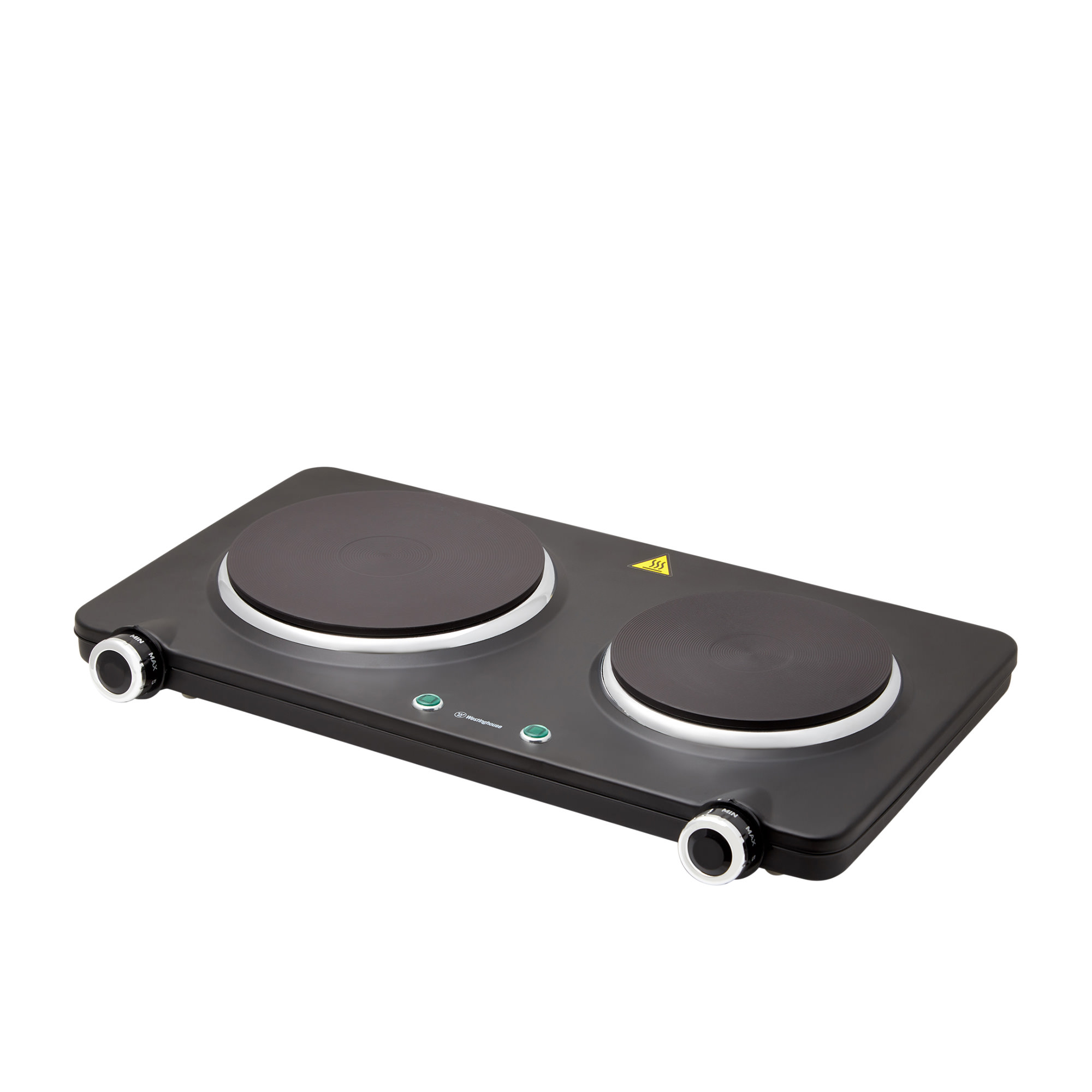 Westinghouse Double Electric Hotplate Black