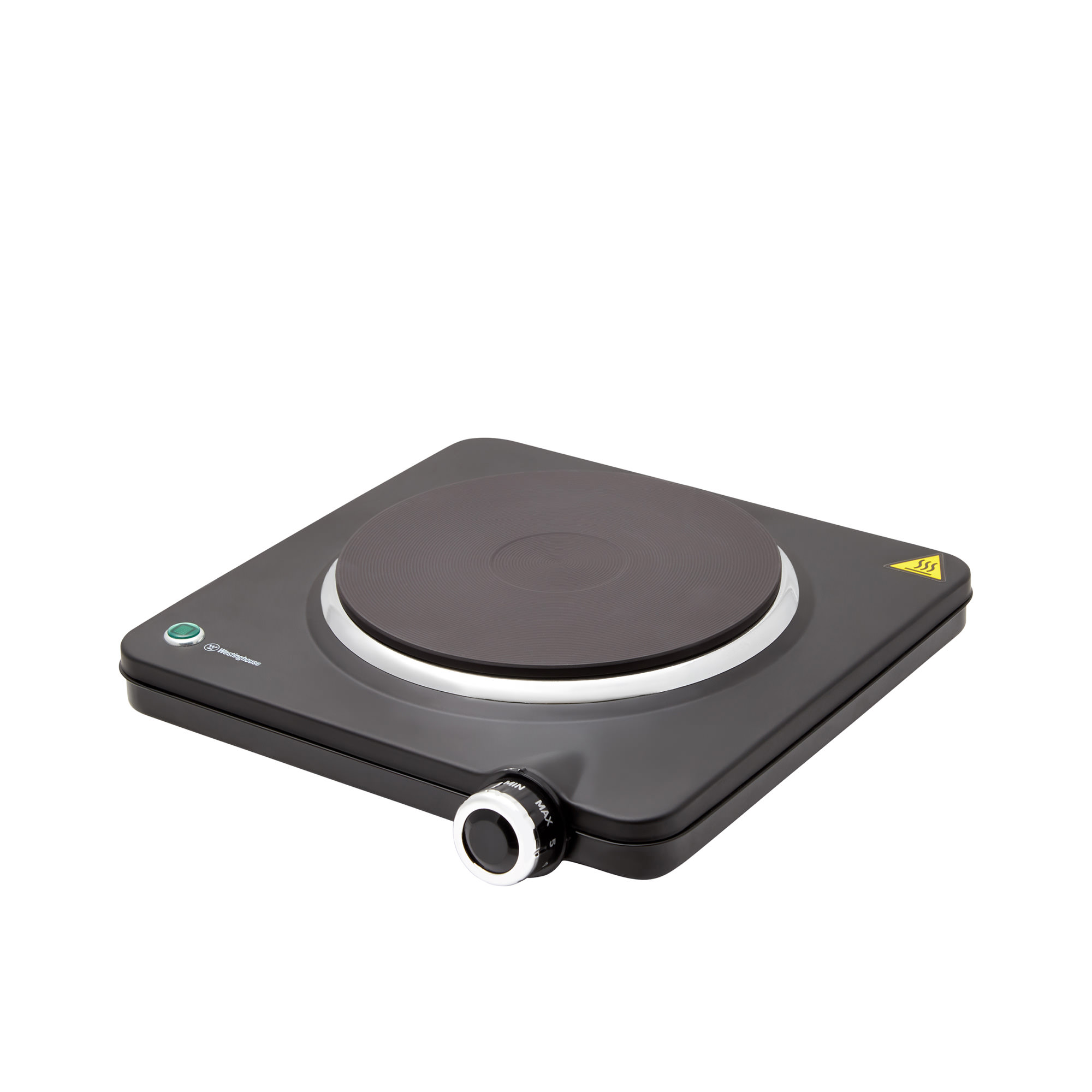 Westinghouse Single Electric Hotplate Black