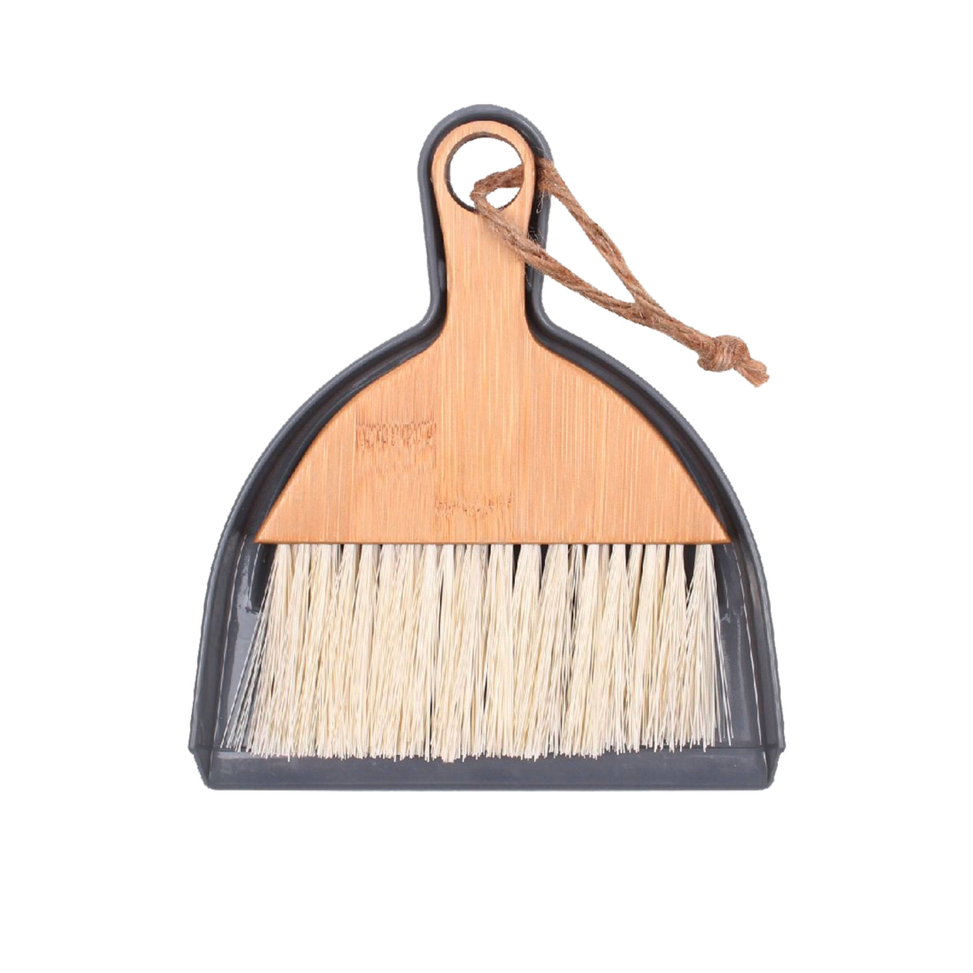 White Magic Eco Basics Mini Dustpan & Brush Bamboo