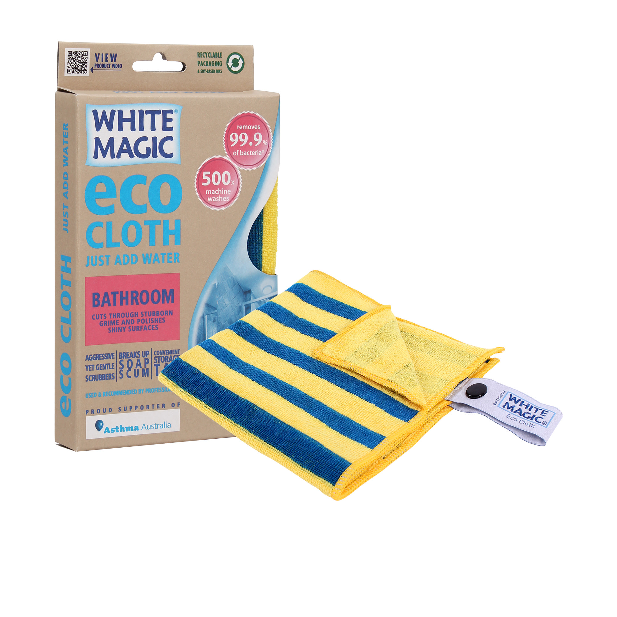 White Magic Eco Cloth Bathroom