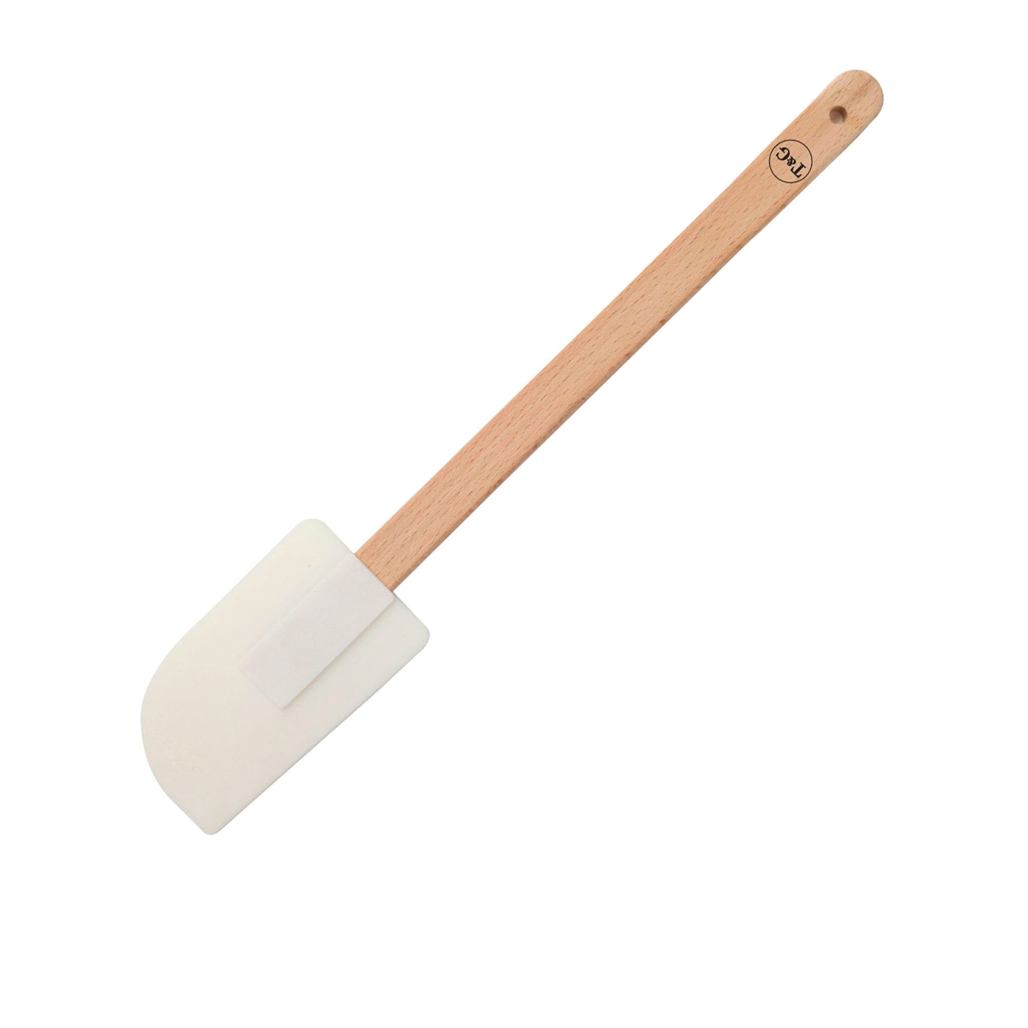 Wild Wood Wooden Spatula with Silicone Head 28.5cm