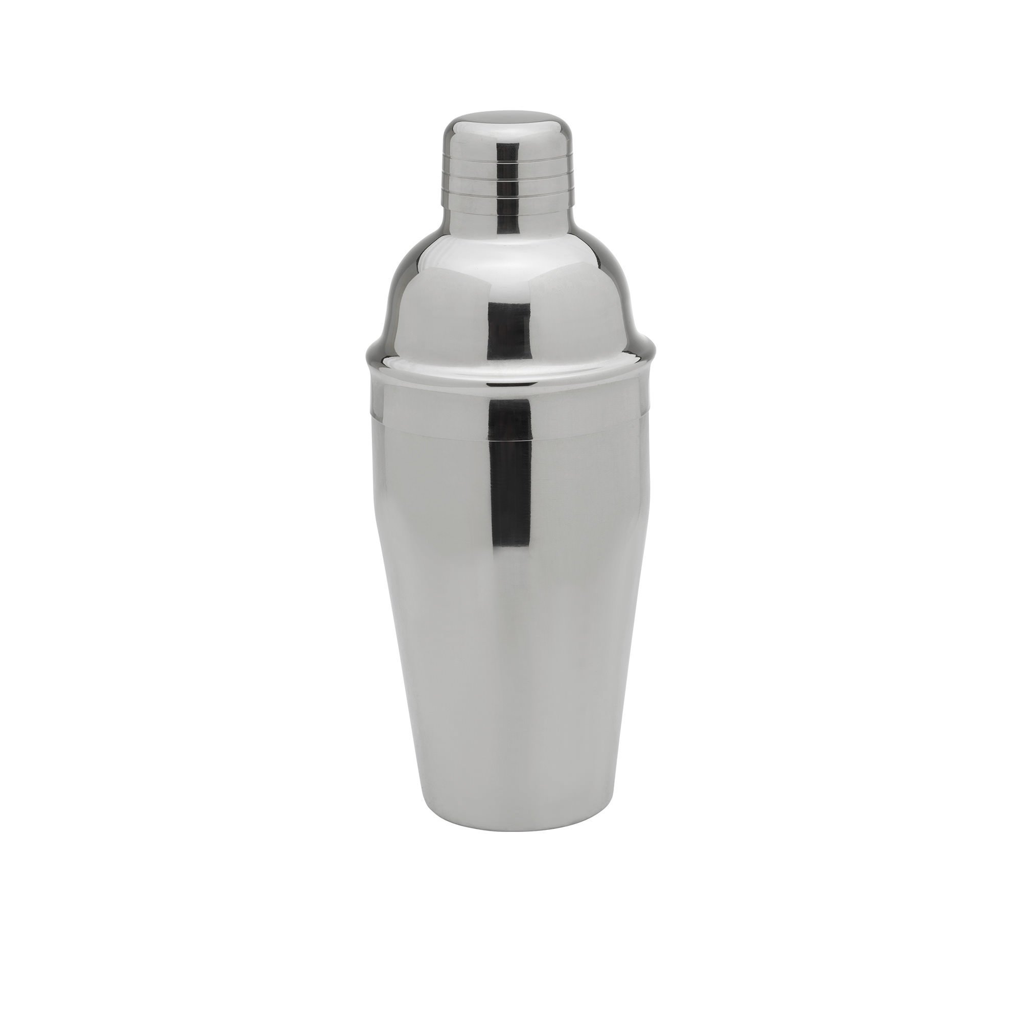 Winex 3pc Stainless Steel Cocktail Shaker Set 500ml