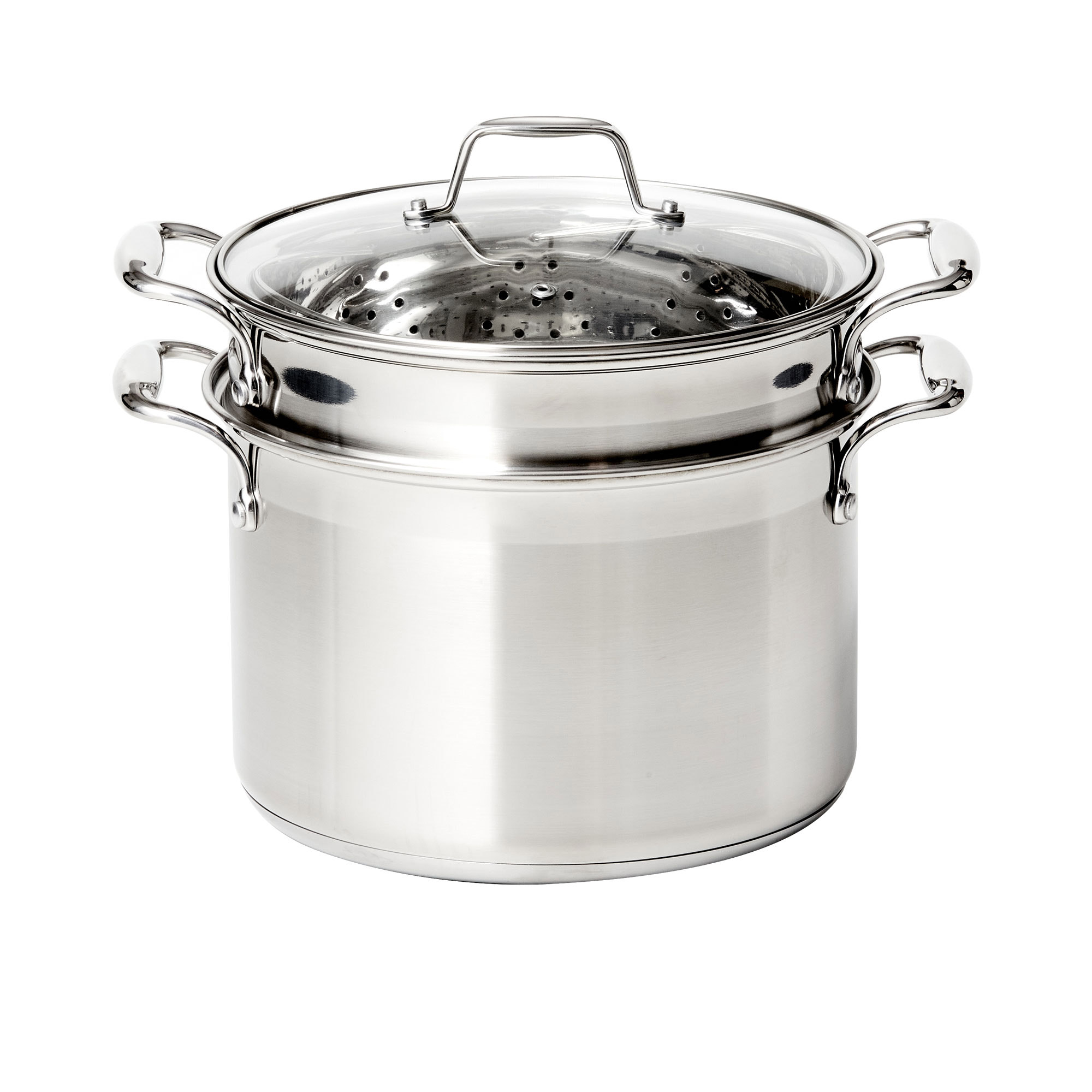 Wolstead Steeltek Stainless Steel 3pc Multi Pasta Pot Set