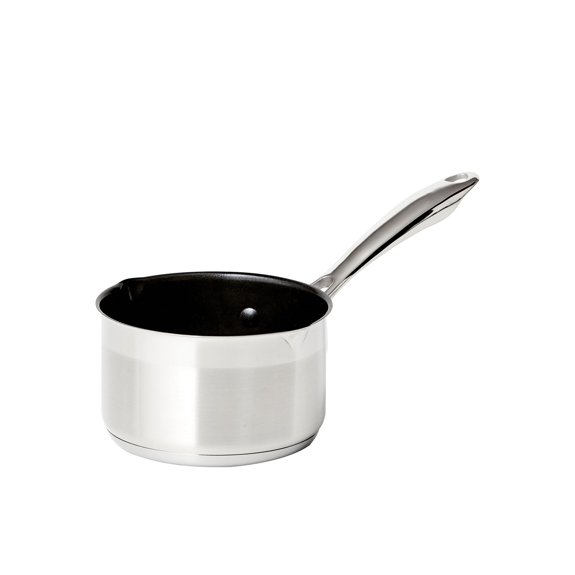 Wolstead Steeltek Stainless Steel Non-Stick Milk Pan 14cm