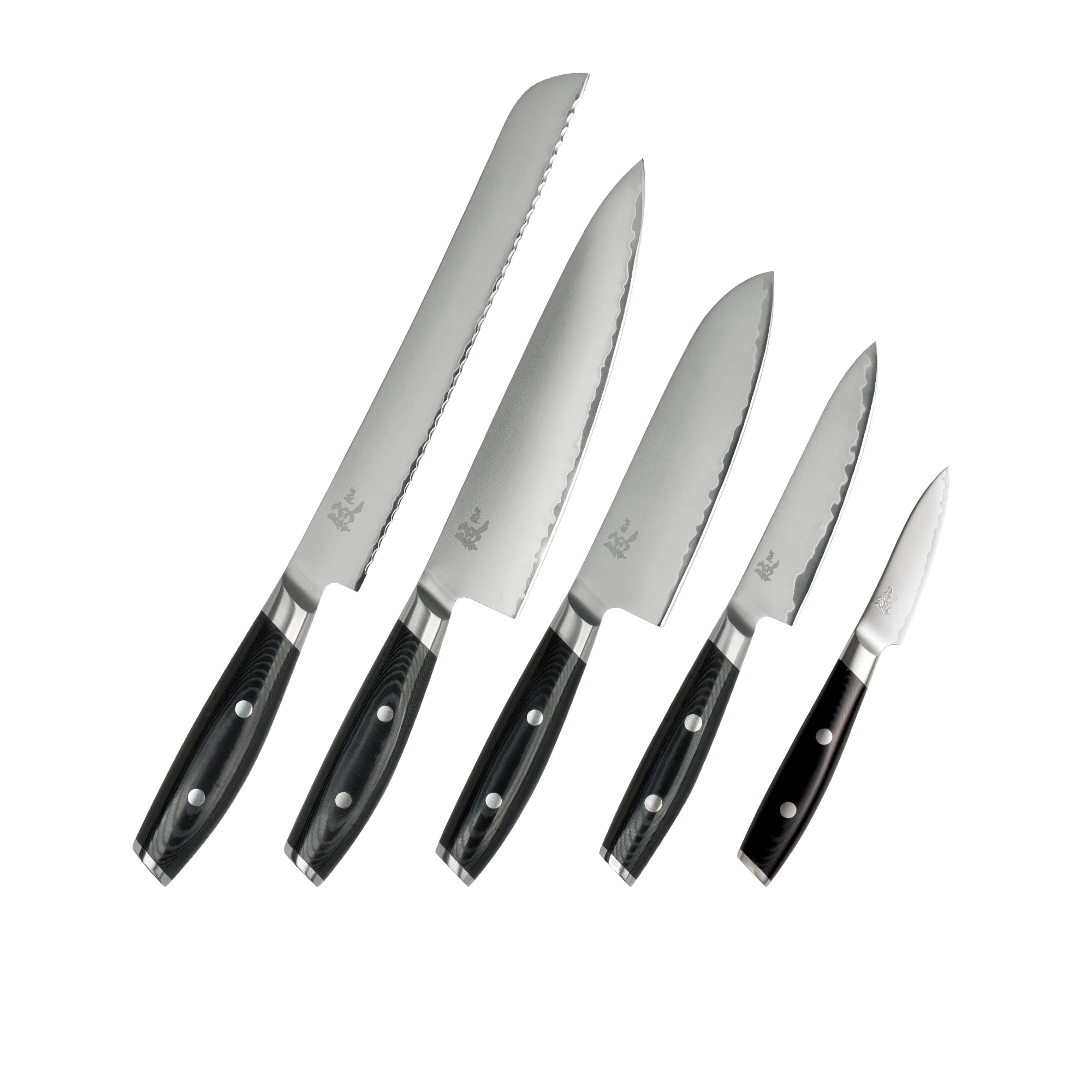 Yaxell Mon 5pc Knife Set