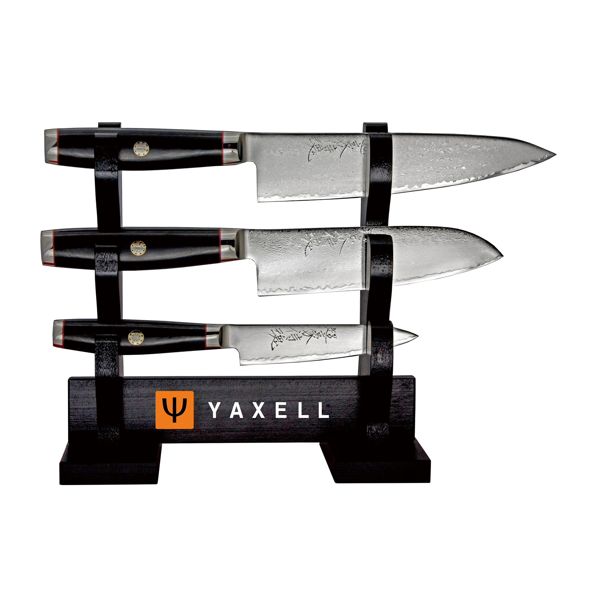 Yaxell Super Gou Ypsilon 4pc Knife Set
