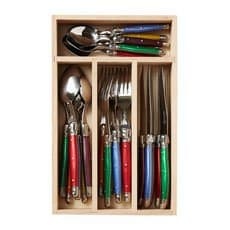 Laguiole Debutant Cutlery Set 24pc Mixed