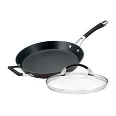 Anolon Endurance+ French Skillet with Bonus Lid 30cm