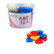 Appetito Alphabet & Number <b>Cookie</b> Cutters in Tub 36pc