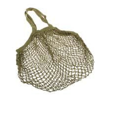Sachi Cotton String Bag Long <b>Handle</b> Avocado